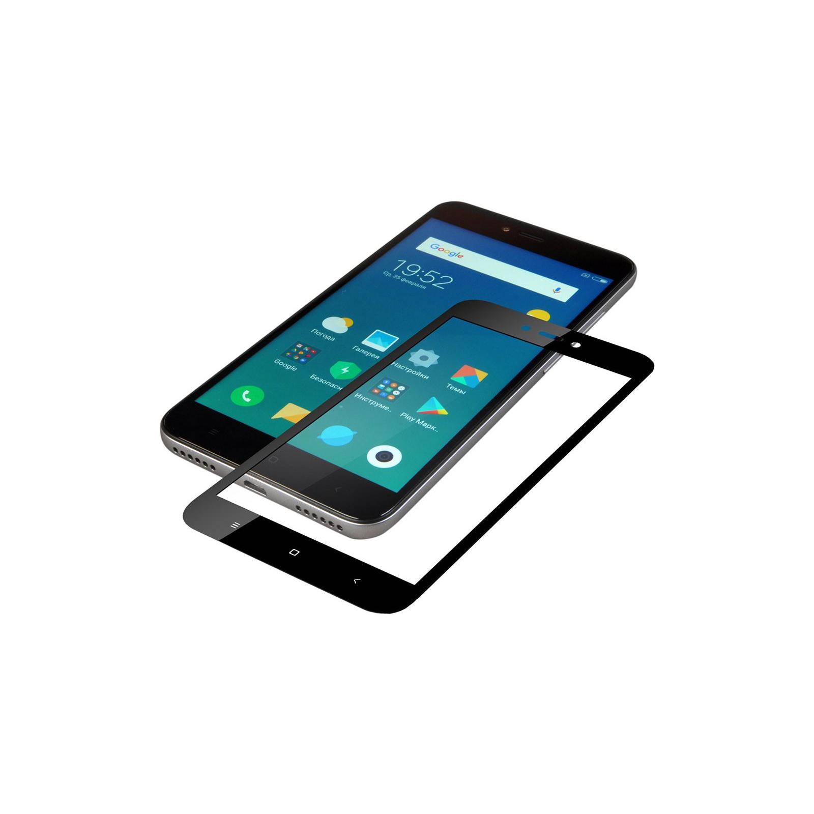 Стекло защитное Vinga для Xiaomi Redmi 5A (Black) (VTPGS-R5A) изображение 3