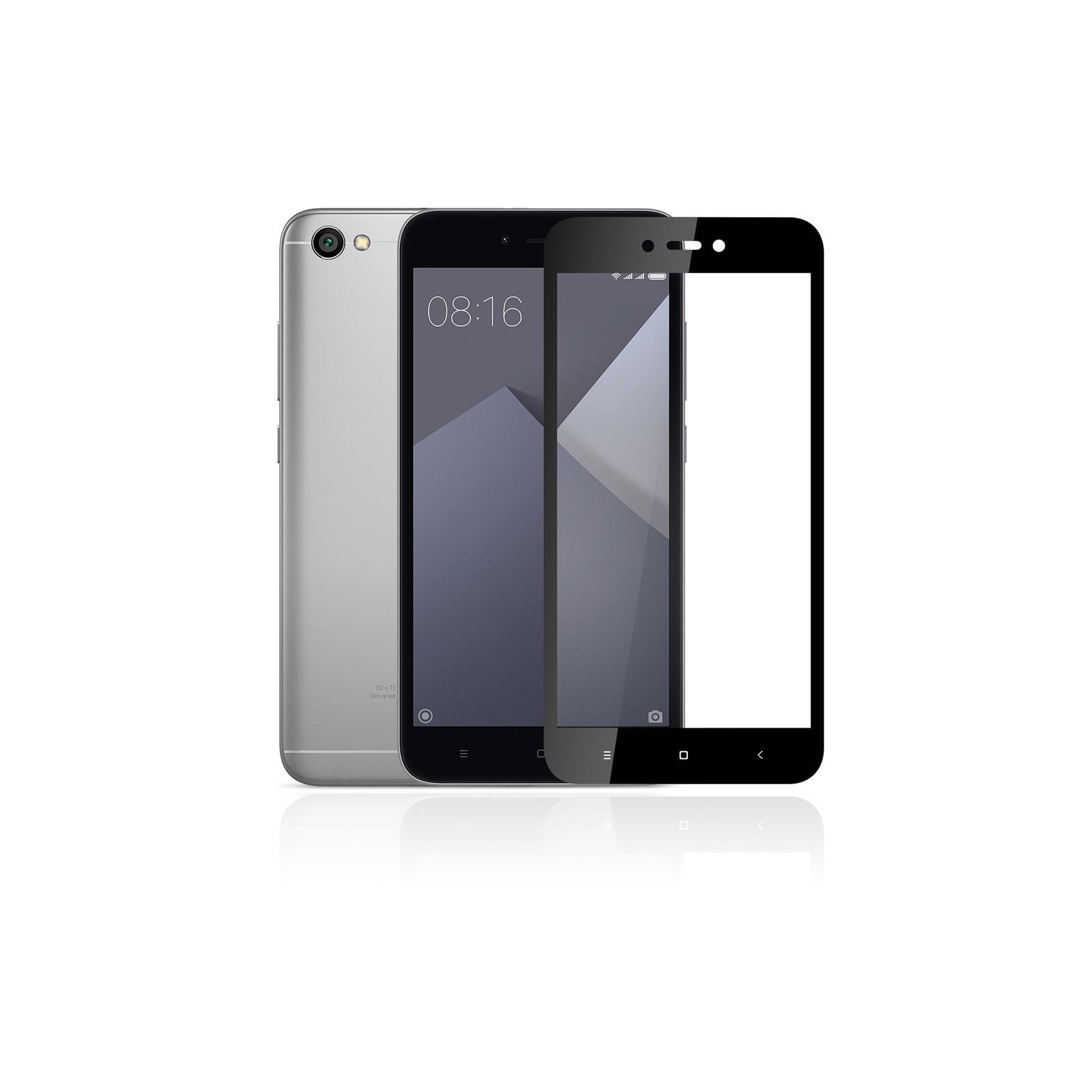 Стекло защитное Vinga для Xiaomi Redmi 5A (Black) (VTPGS-R5A) изображение 4
