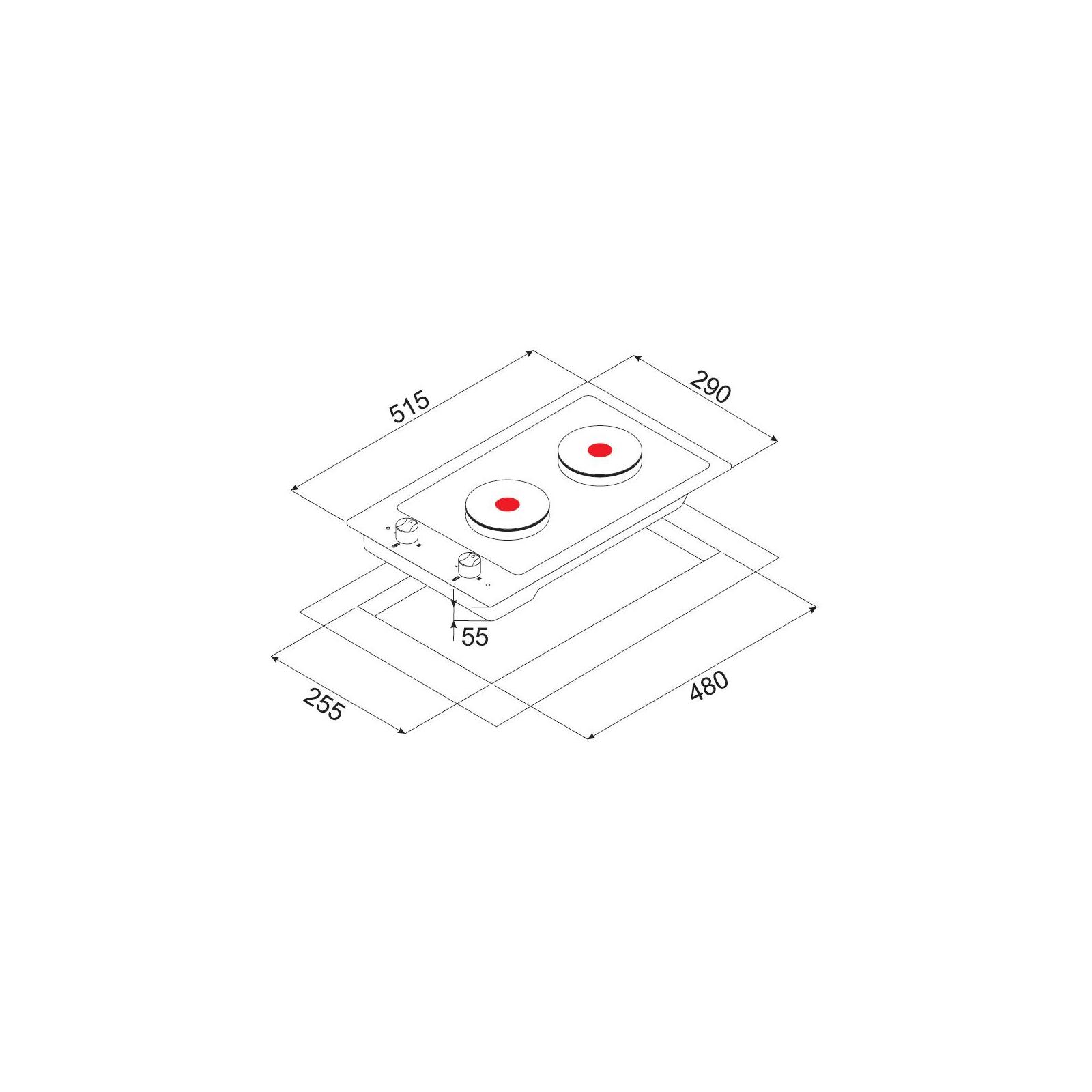 Варочная поверхность MINOLA ME 3203 WH изображение 5