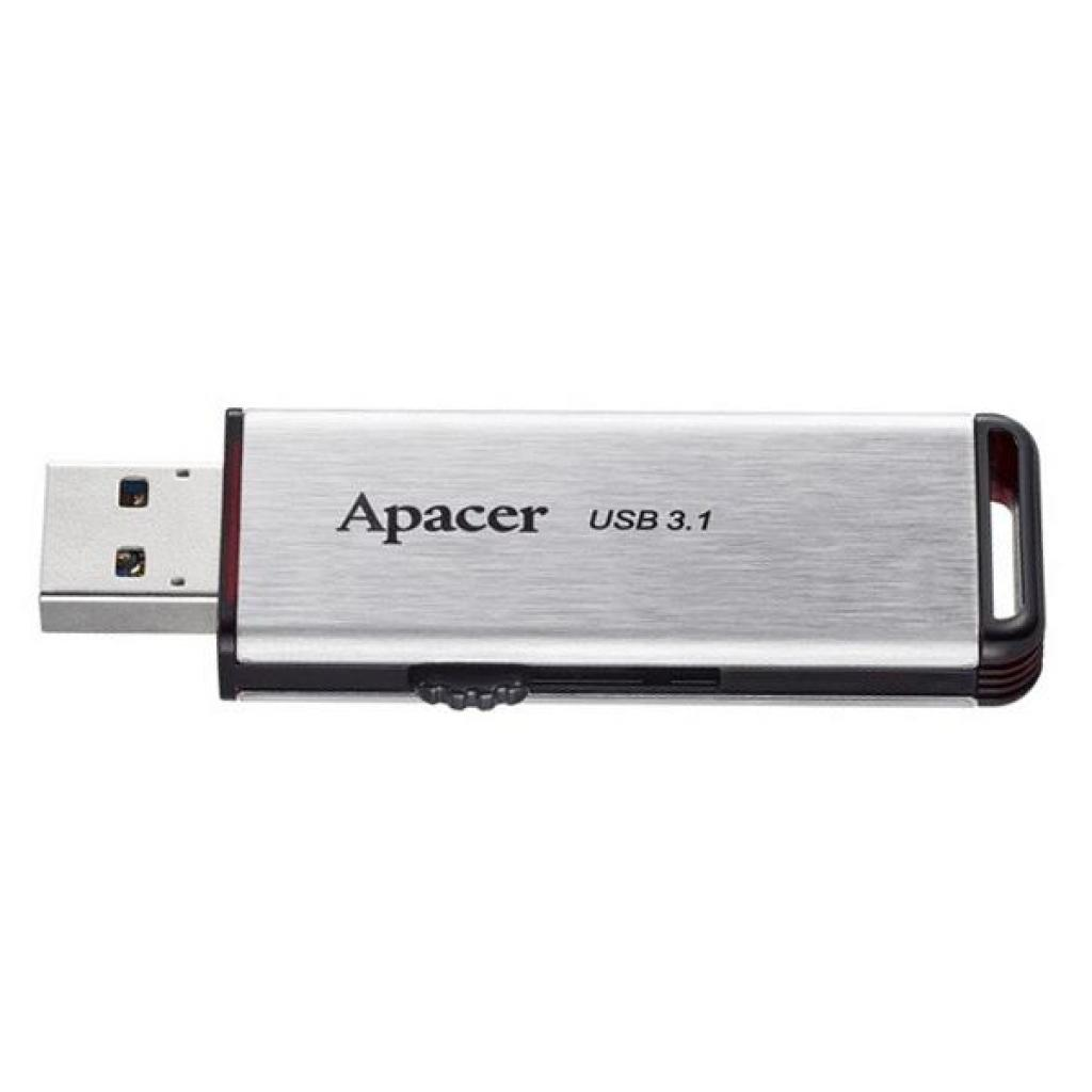 USB флеш накопитель Apacer 64GB AH35A Silver USB 3.1 Gen1 (AP64GAH35AS-1) изображение 3