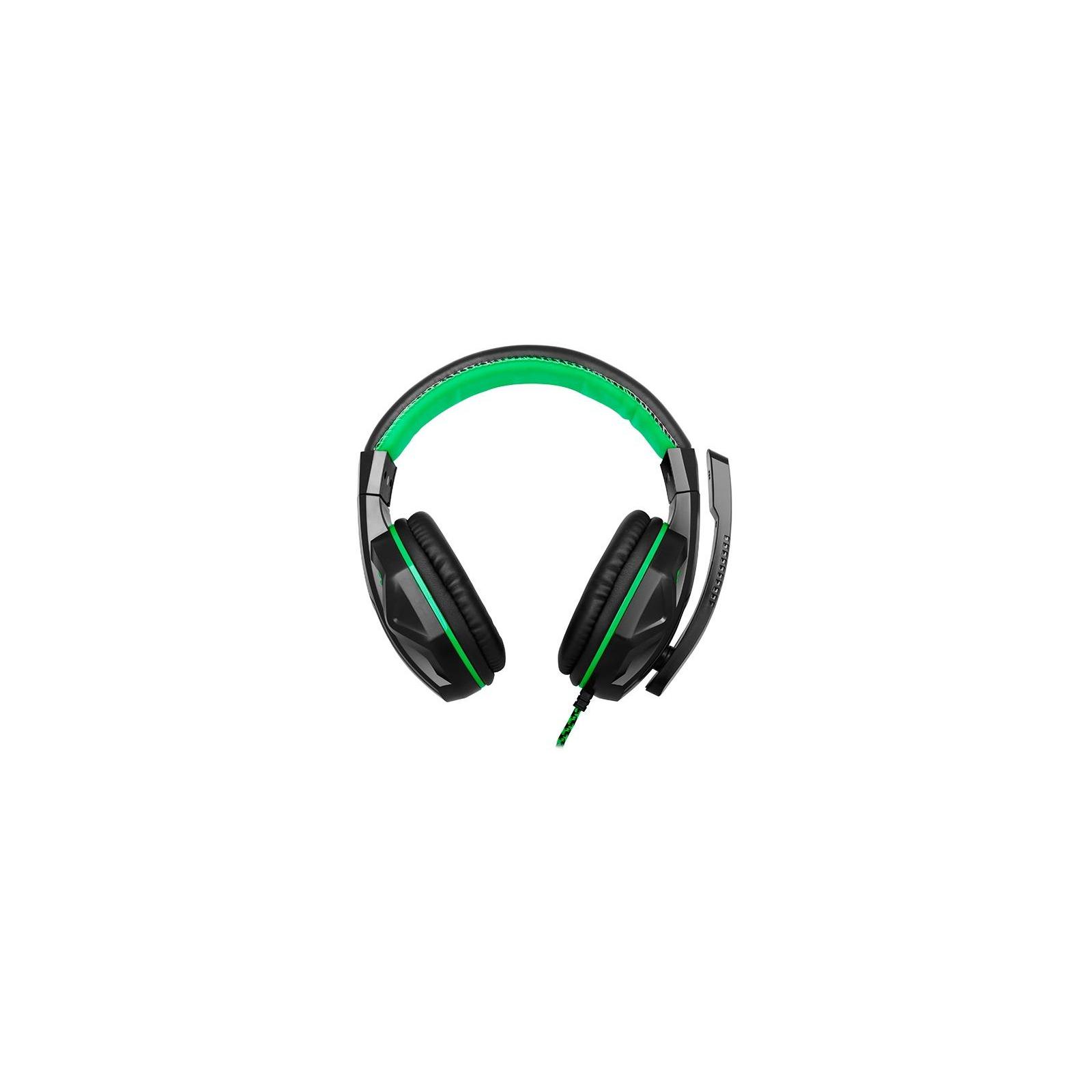 Наушники GEMIX X-370 black-green изображение 3