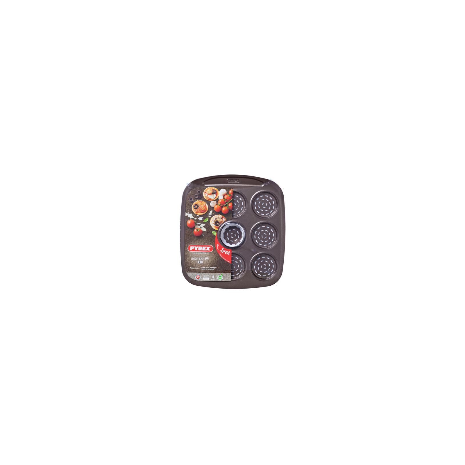 Форма для выпечки Pyrex Asimetria мини-pizza 9 ячеек (AS09BZ0)