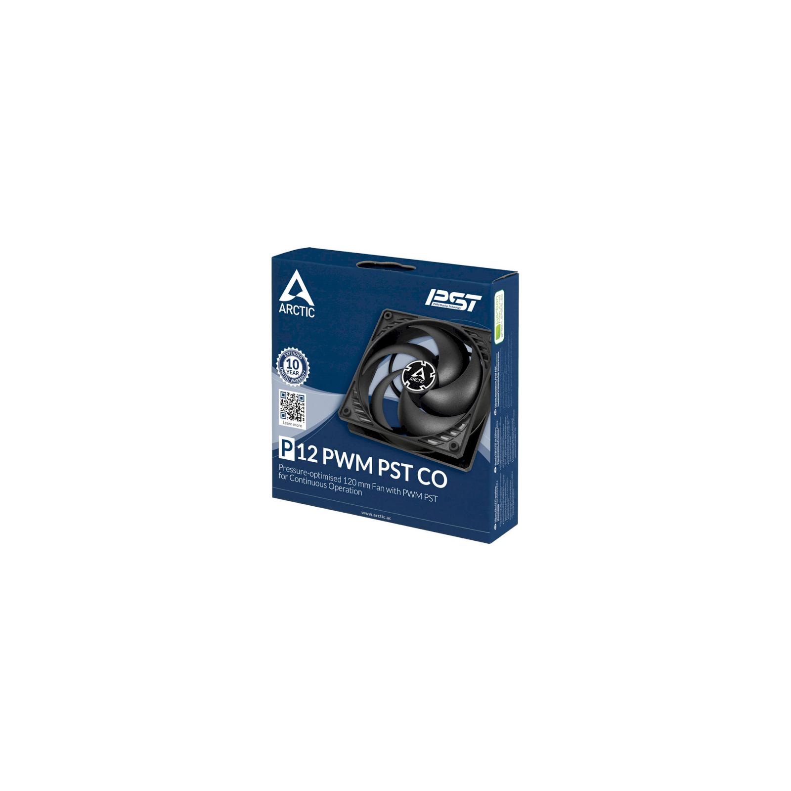 Кулер для корпуса Arctic P12 PWM PST CO (ACFAN00121A) изображение 3