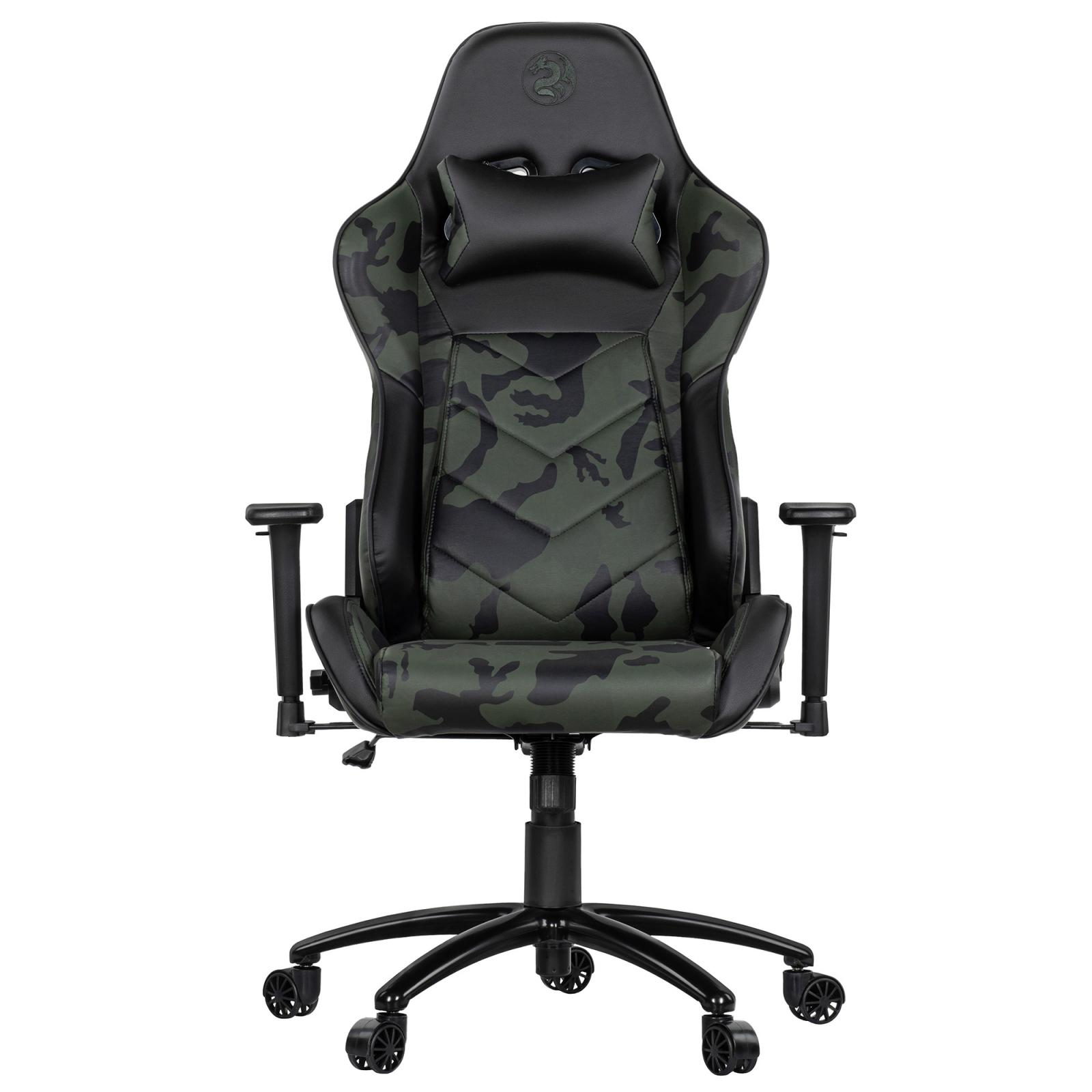 Крісло ігрове 2E GC22 Camouflage (2E-GC22CAM) зображення 2
