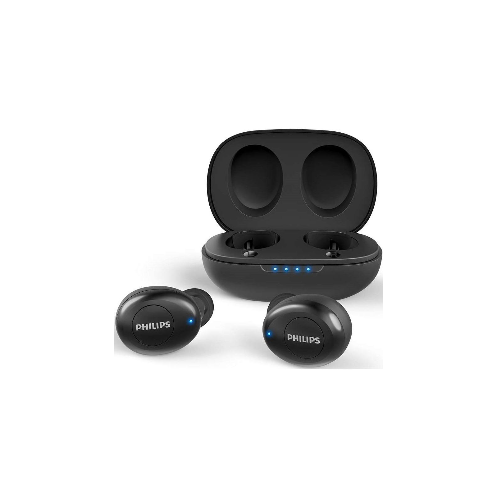 Наушники PHILIPS TAUT102BK True Wireless Black (TAUT102BK/00) изображение 4