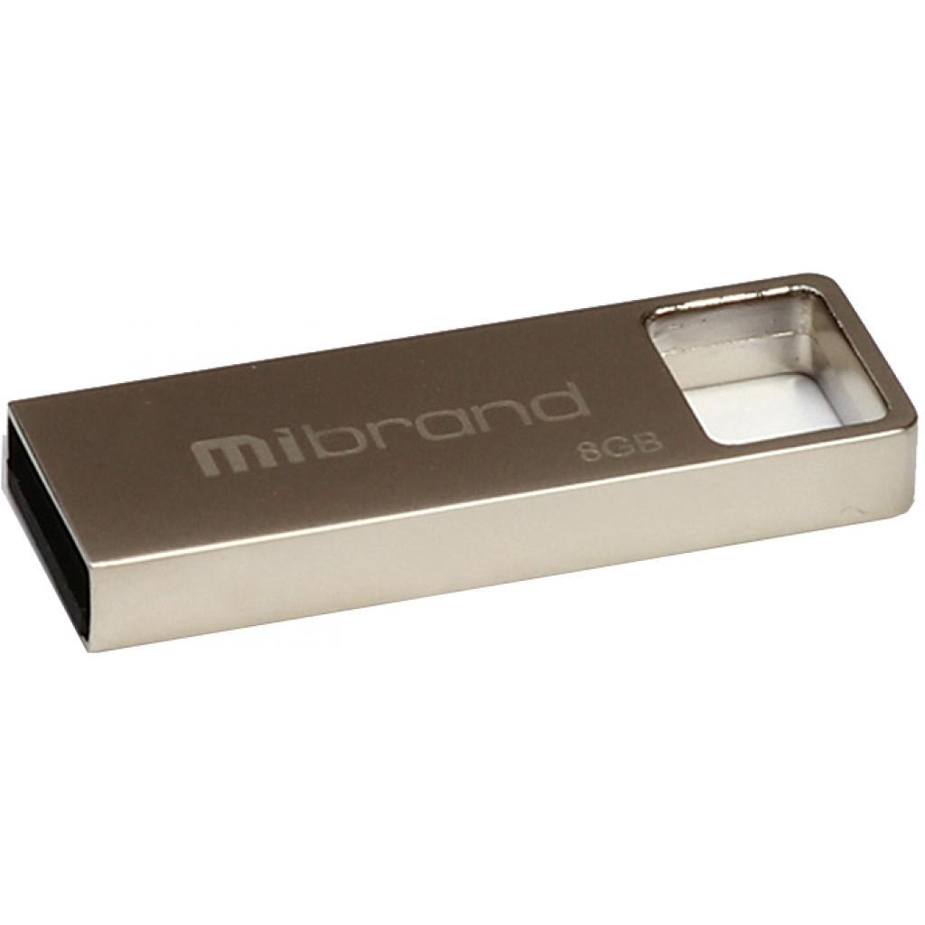 USB флеш накопитель Mibrand 4GB Shark Silver USB 2.0 (MI2.0/SH4U4S)