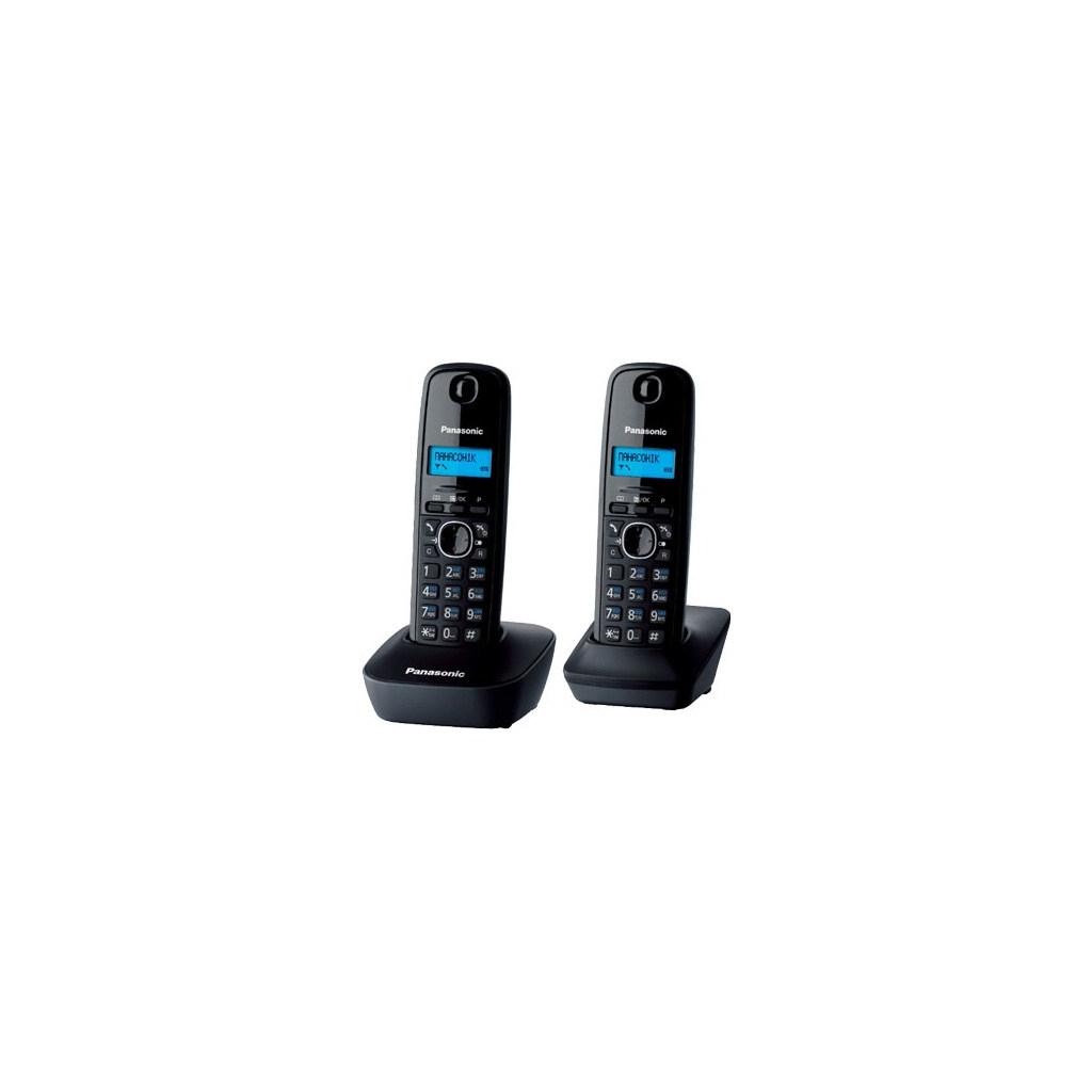 Телефон DECT PANASONIC KX-TG1612UAH
