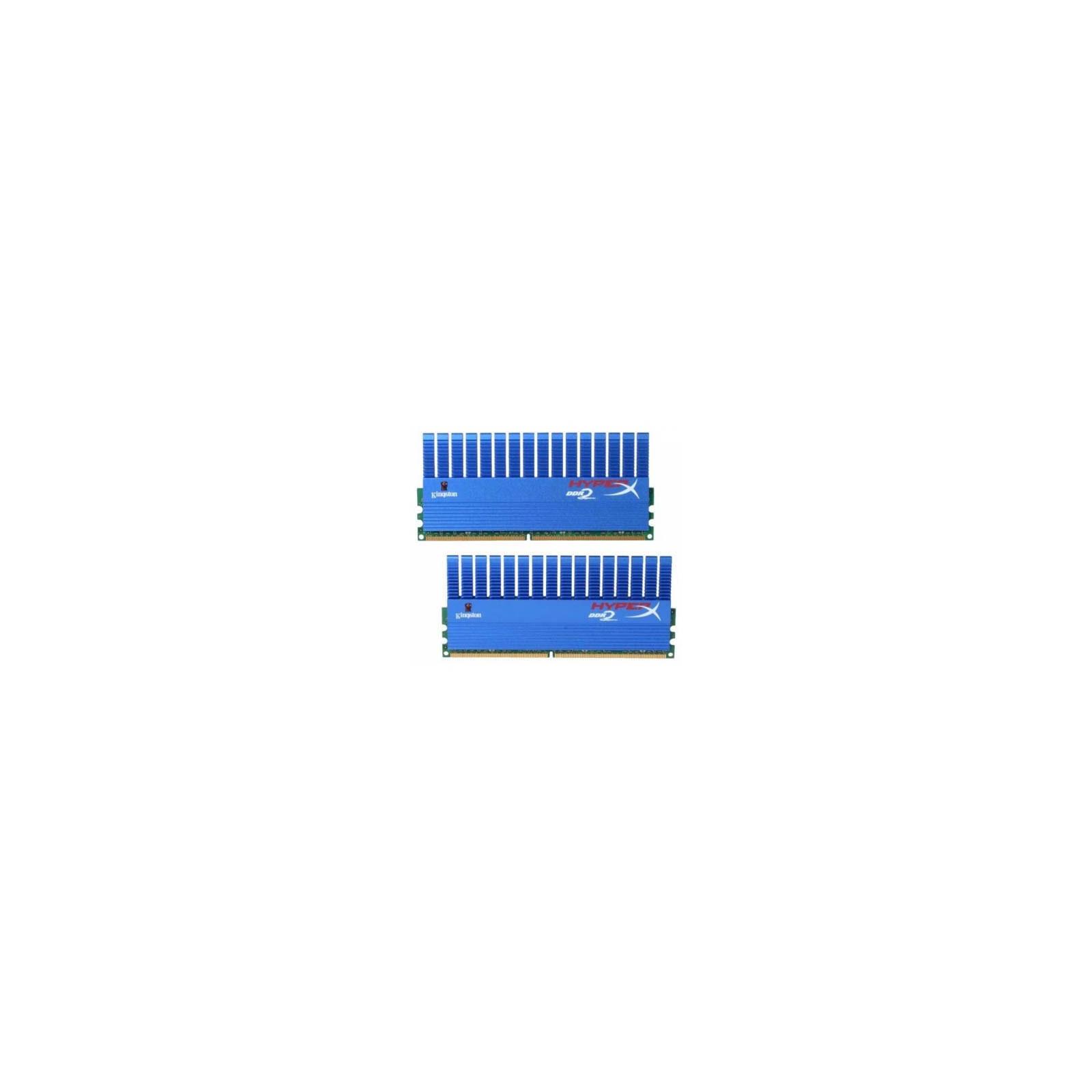Модуль памяти для компьютера DDR2 4GB (2х2GB) 1066 MHz Kingston (KHX8500D2T1K2/4G)