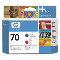 Печатающая головка HP No.70 Matte Black and Red (C9409A)
