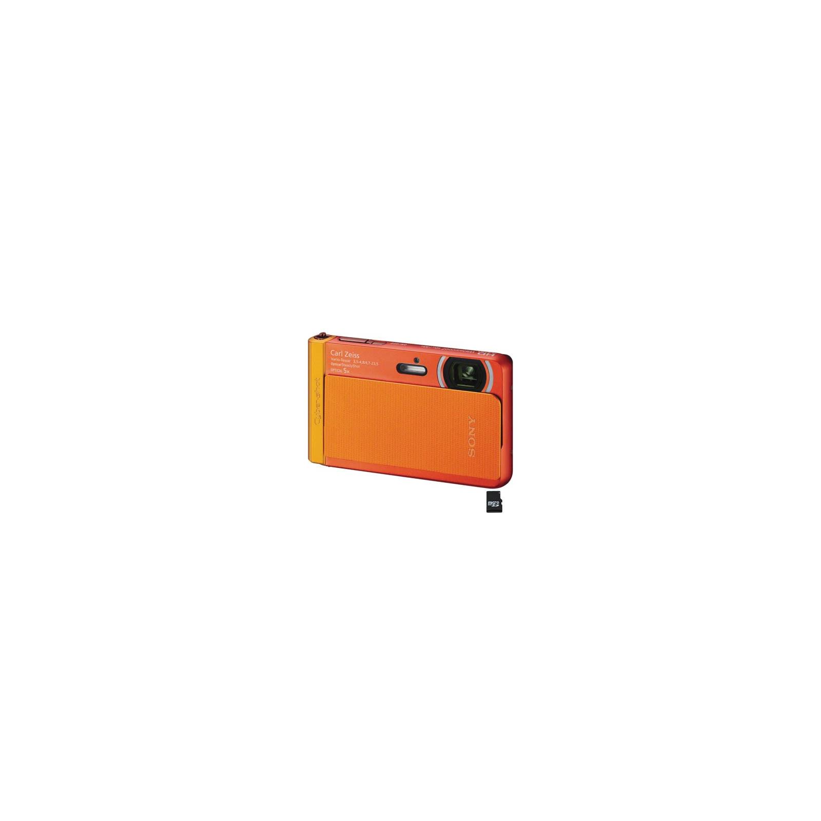 Цифровой фотоаппарат SONY Cyber-shot DSC-TX30 orange (DSCTX30D.RU3)