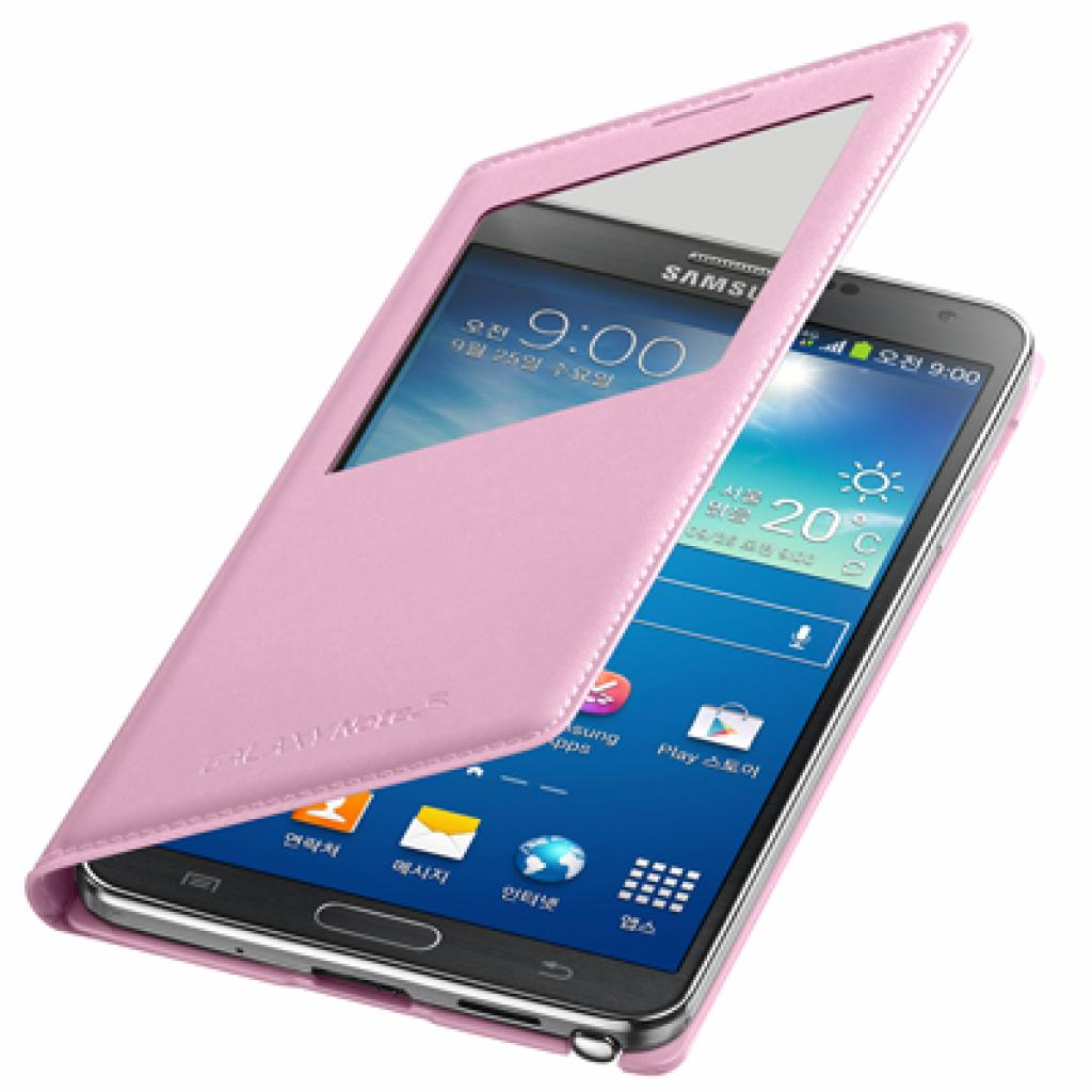 Чехол для моб. телефона Samsung N9000 Galaxy Note 3 (S View Cover) Soft Pink (EF-CN900BIEGRU) изображение 1