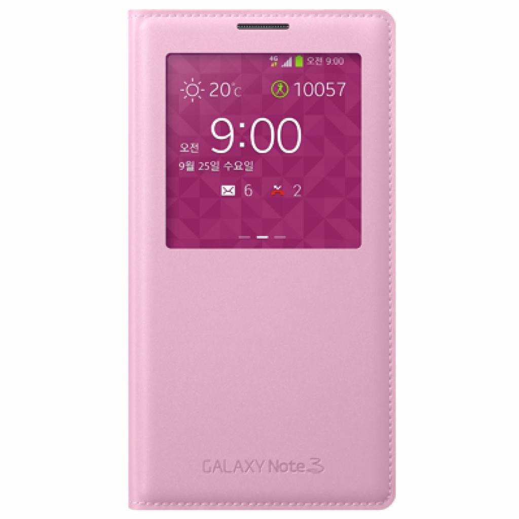 Чехол для моб. телефона Samsung N9000 Galaxy Note 3 (S View Cover) Soft Pink (EF-CN900BIEGRU)