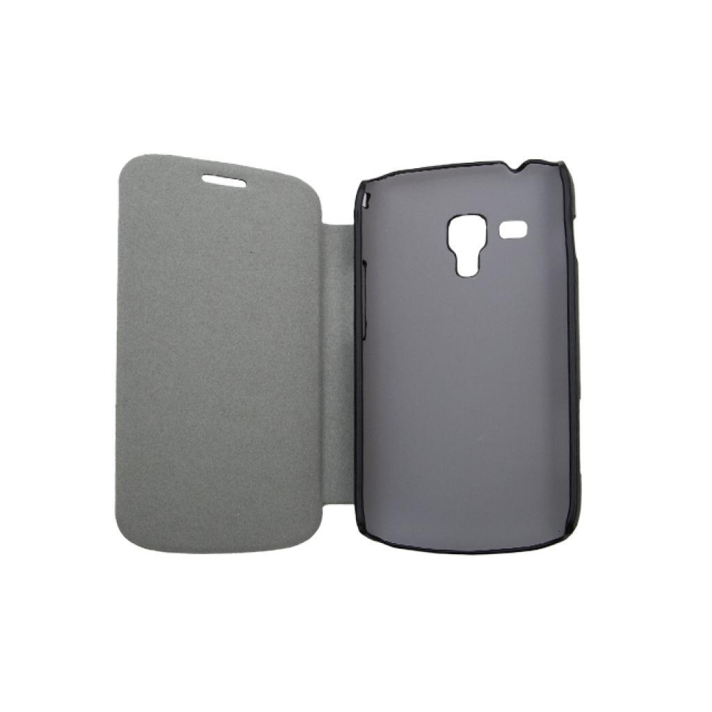 Чехол для моб. телефона Drobak для Samsung S7562 Galaxy S Duos /Book Style/Black (215275) изображение 2