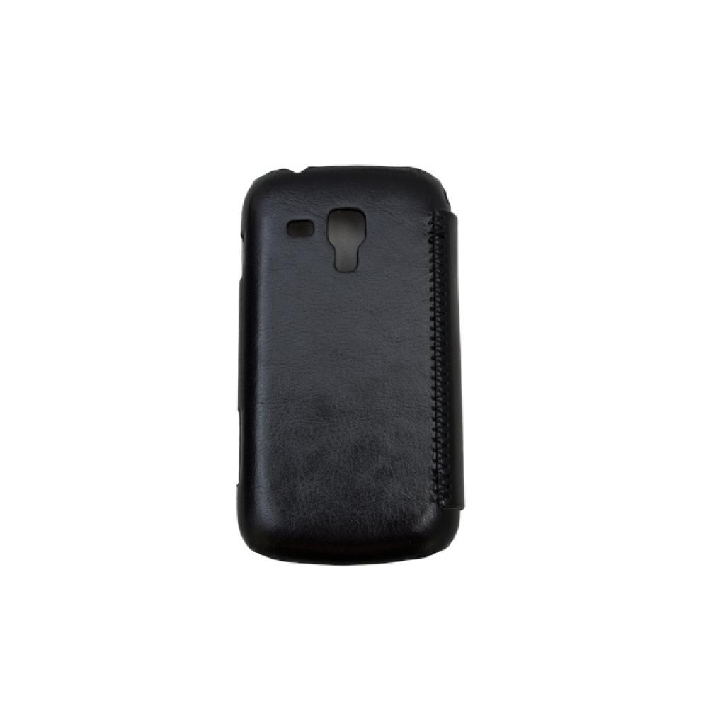 Чехол для моб. телефона Drobak для Samsung S7562 Galaxy S Duos /Book Style/Black (215275) изображение 3