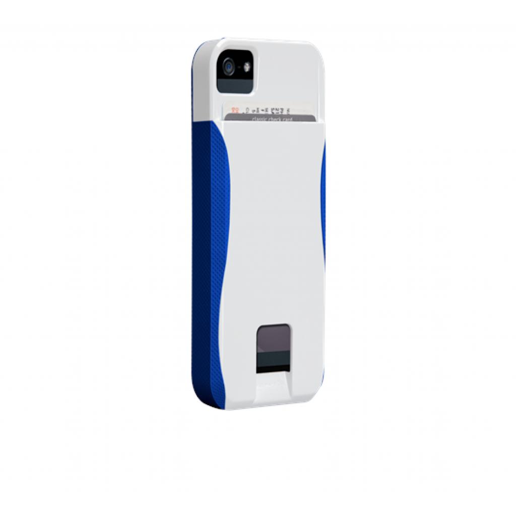 Чехол для моб. телефона Case-Mate для Apple iPhone 5 POP ID White/Blue (CM022420)