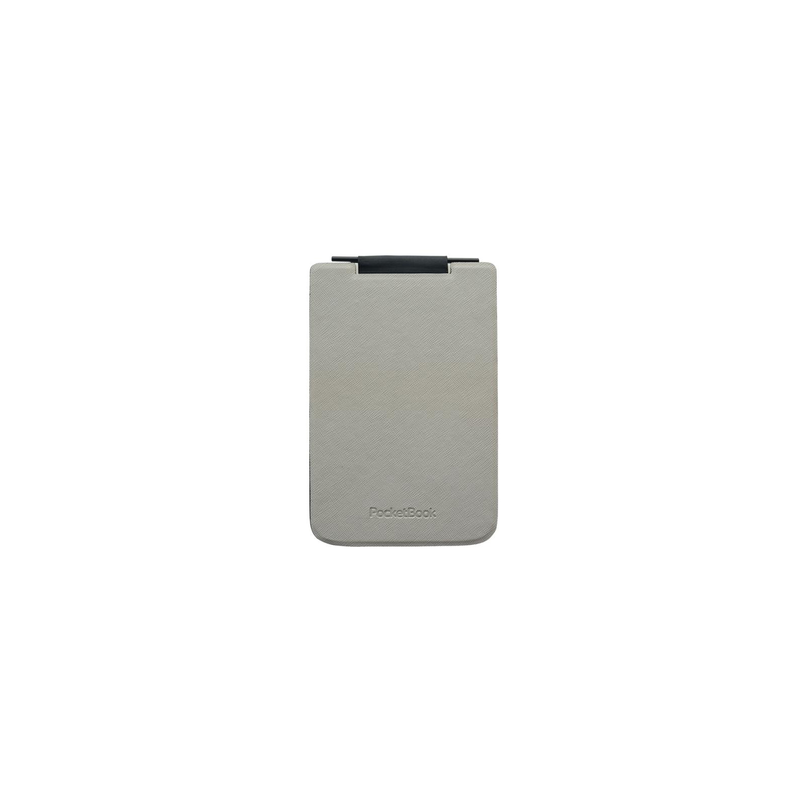 Чехол для электронной книги PocketBook PB624 Flip grey/black (PBPUC-624-GYBC-RD)