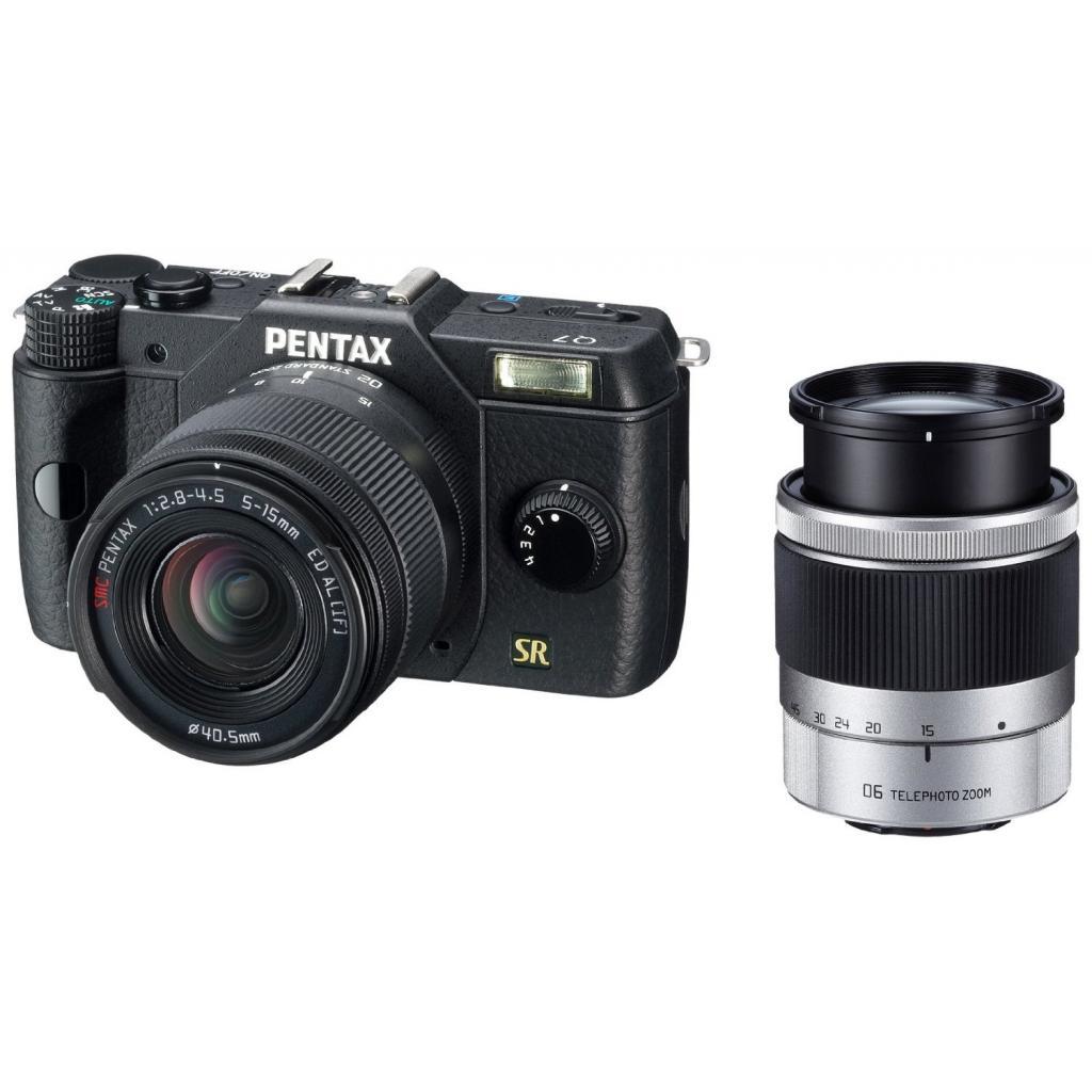 Цифровой фотоаппарат Pentax Q7+ объектив 5-15mm F2.8-4.5 black (10719) изображение 6