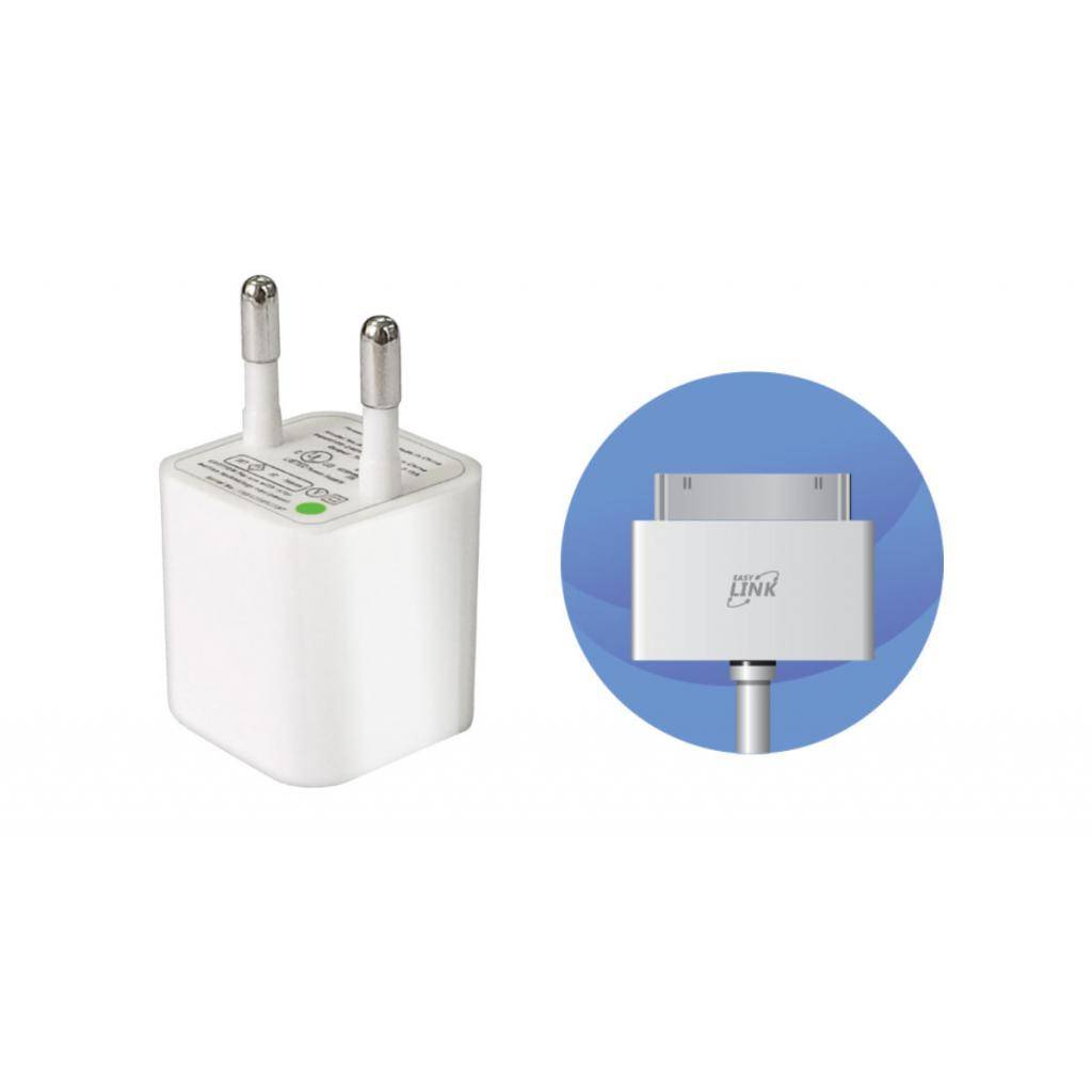 Зарядное устройство EasyLink (2 в 1) +кабель Dock (EL-195)