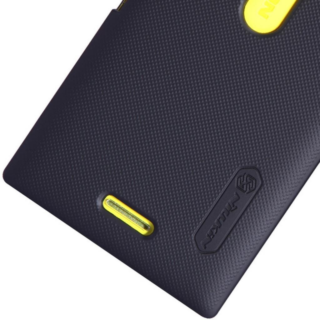 Чехол для моб. телефона NILLKIN для Nokia 502 /Super Frosted Shield/Black (6116666) изображение 5