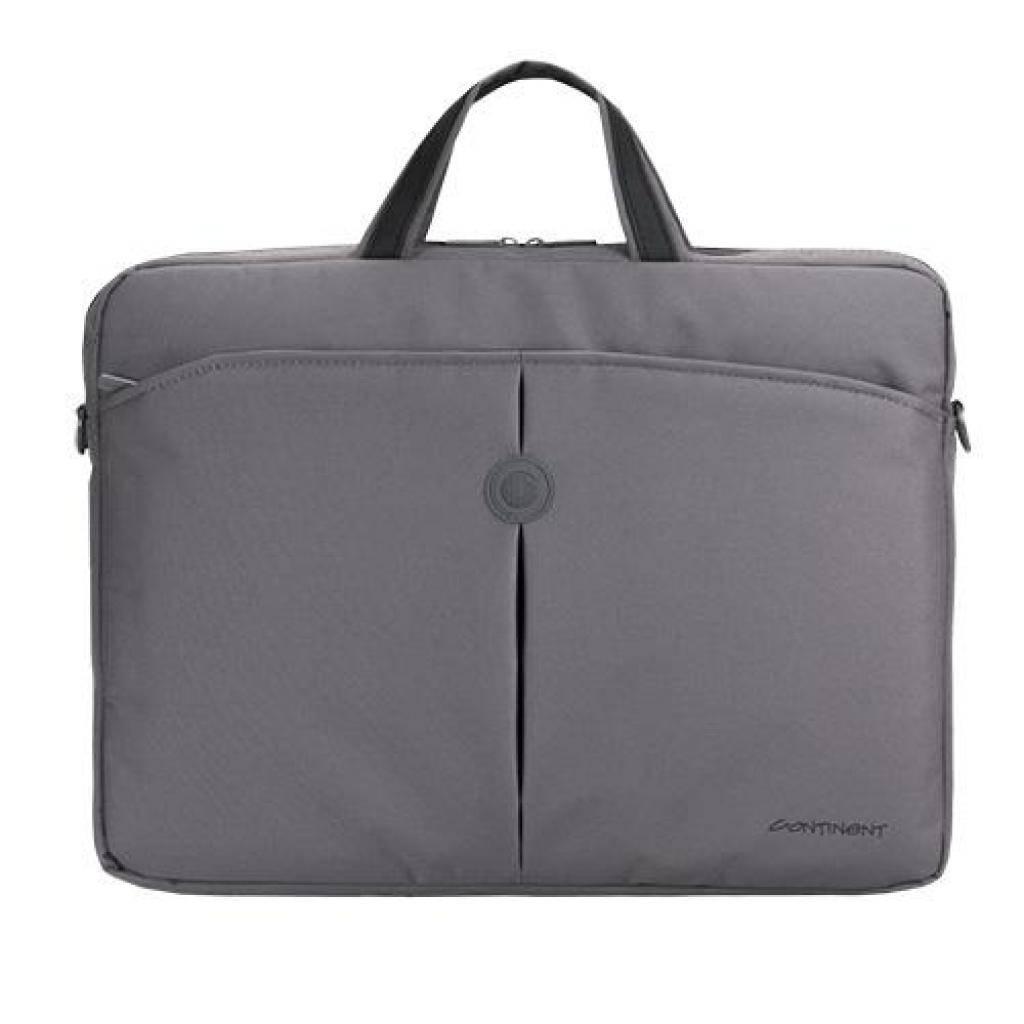 Сумка для ноутбука Continent 15.6 CC-01 Gray (CC-01 Gray)