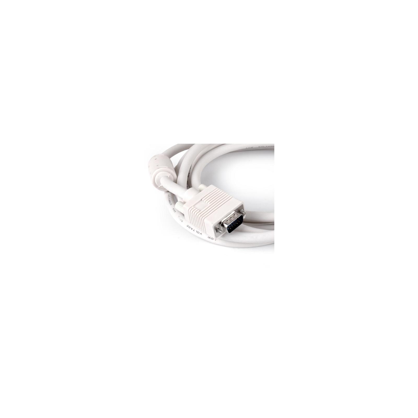 Кабель мультимедийный VGA HD M/M, 3.0m GEMIX (Art.GC 1303) изображение 2