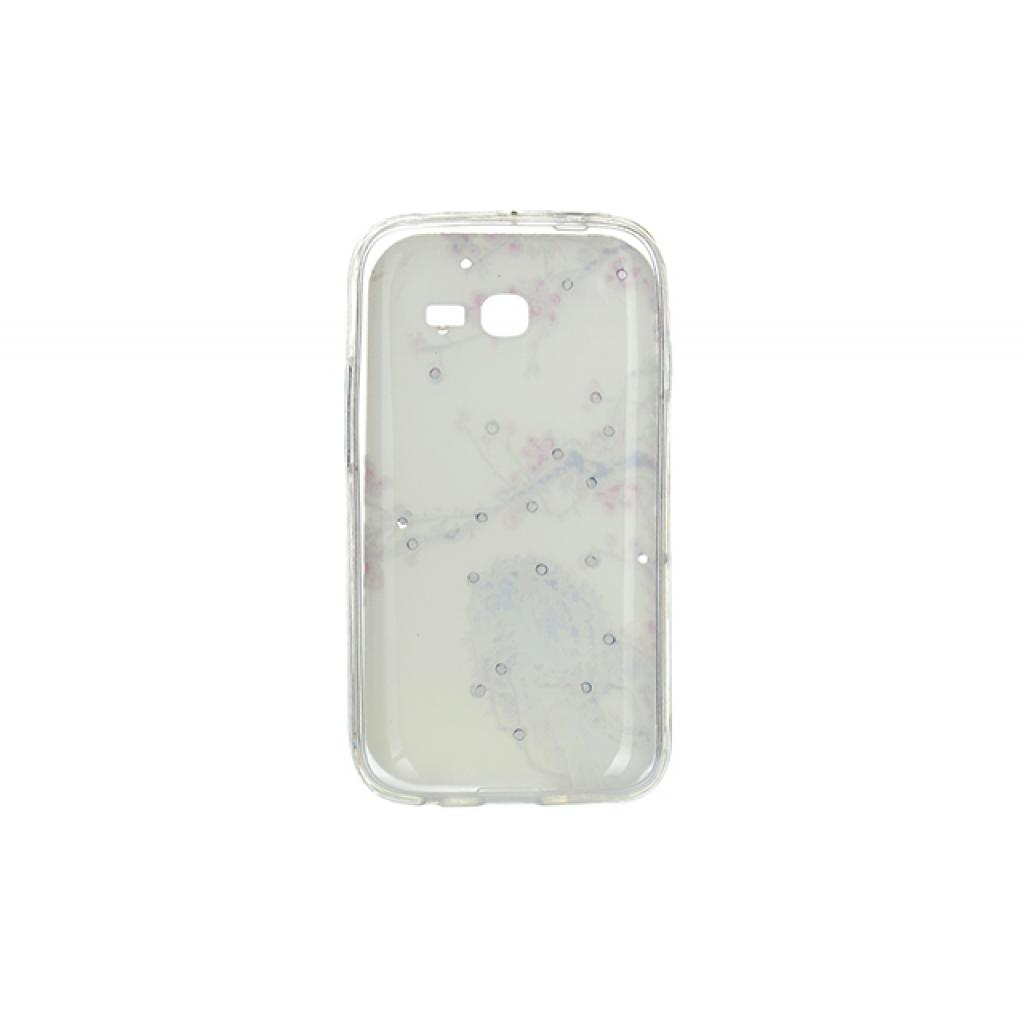 Чехол для моб. телефона для Samsung Galaxy S7262 (White) Cristall PU Drobak (216096) изображение 2