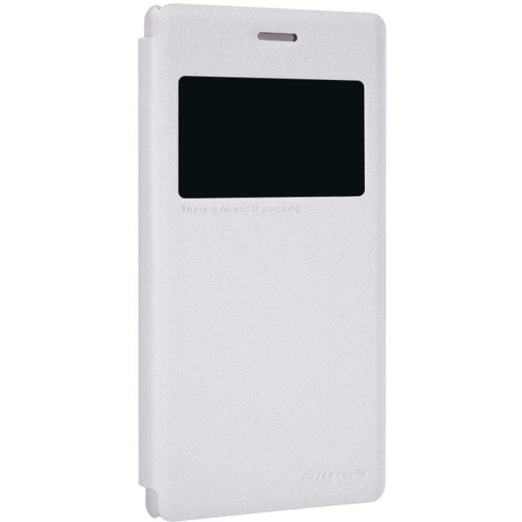 Чехол для моб. телефона NILLKIN для Sony Xperia M2 /Spark/ Leather/White (6147171) изображение 2