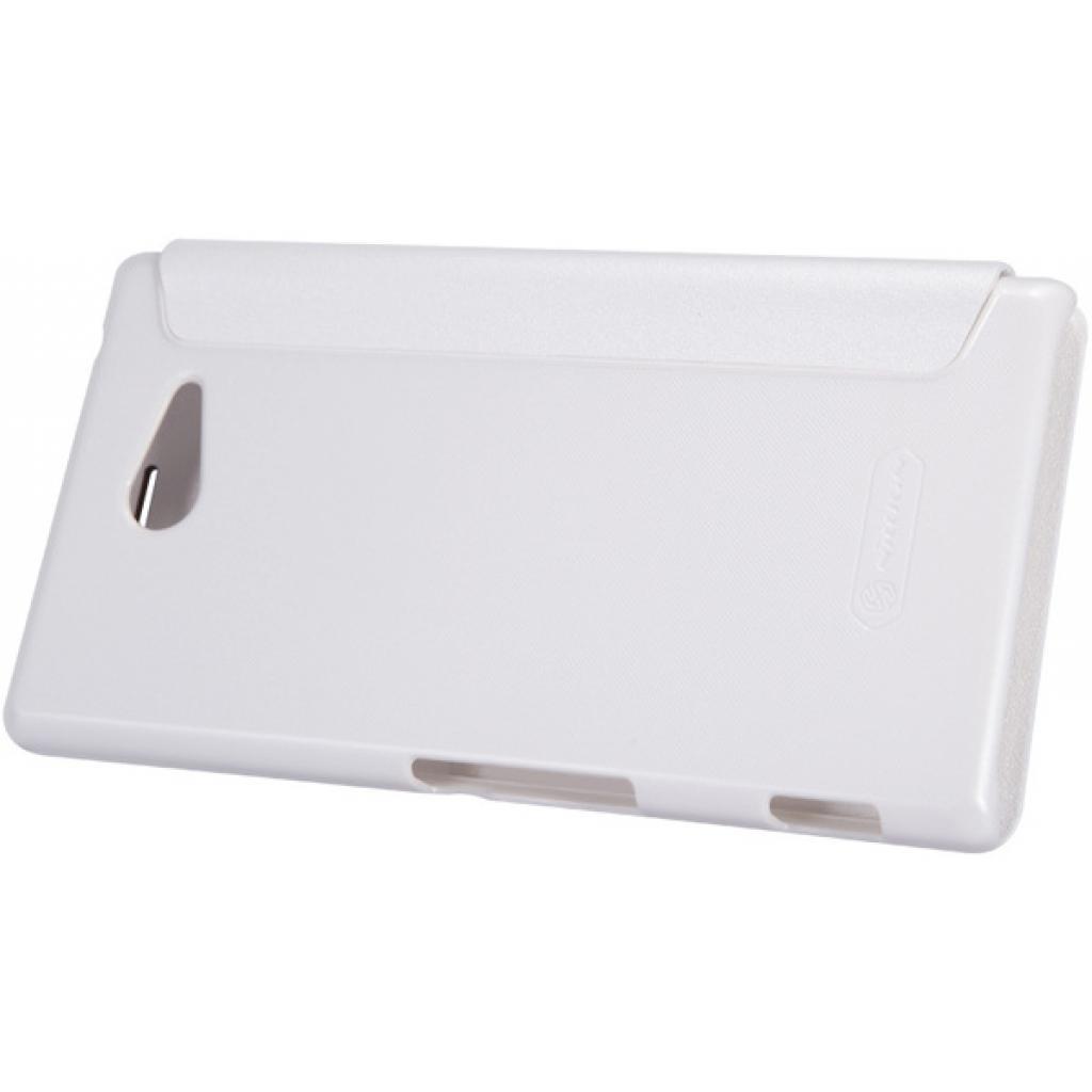 Чехол для моб. телефона NILLKIN для Sony Xperia M2 /Spark/ Leather/White (6147171) изображение 4