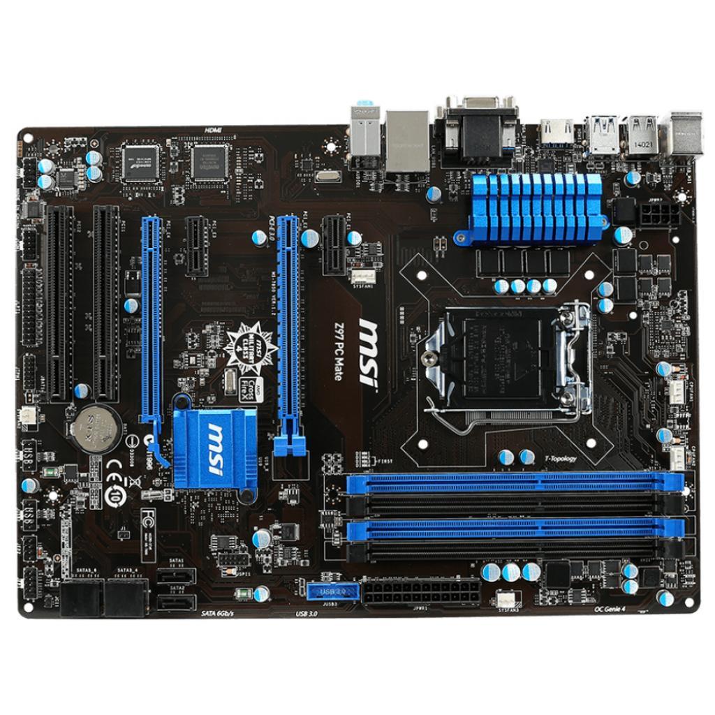 Материнская плата MSI Z97 PC Mate изображение 2