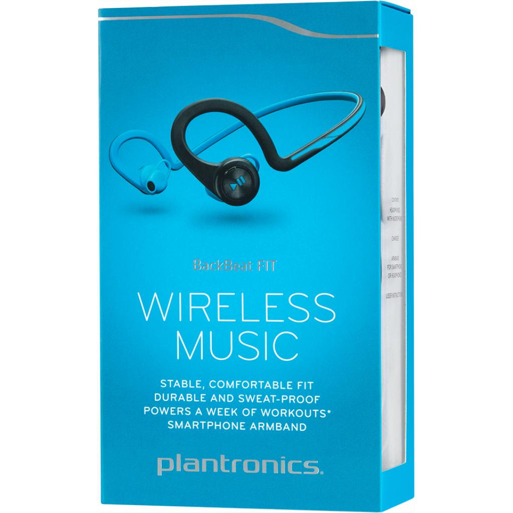 Наушники Plantronics BackBeat FIT blue (BBFITB) изображение 8