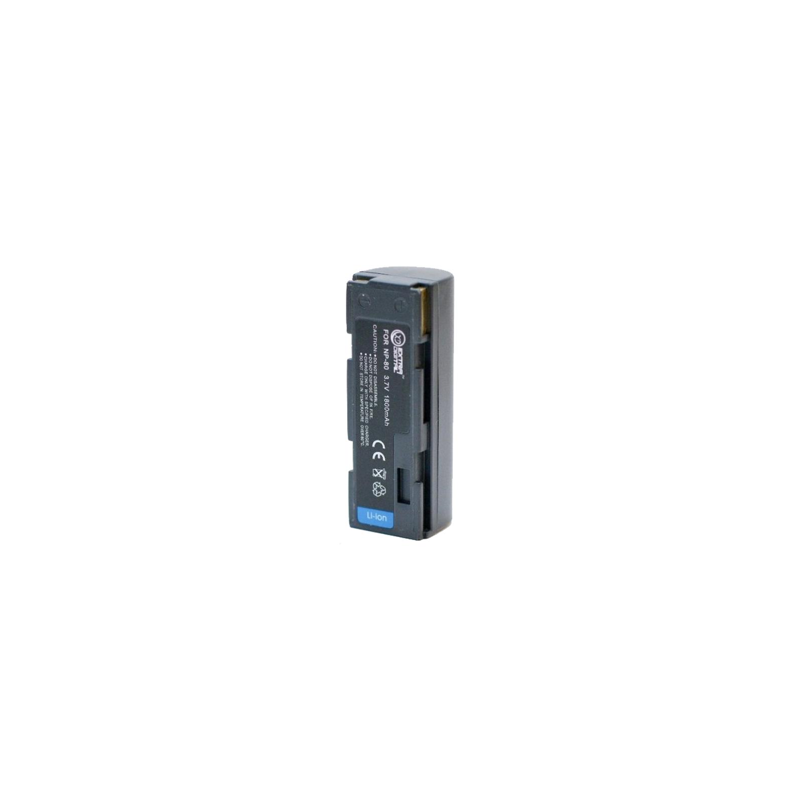 Аккумулятор к фото/видео EXTRADIGITAL Fuji NP-80 (DV00DV1048) изображение 2