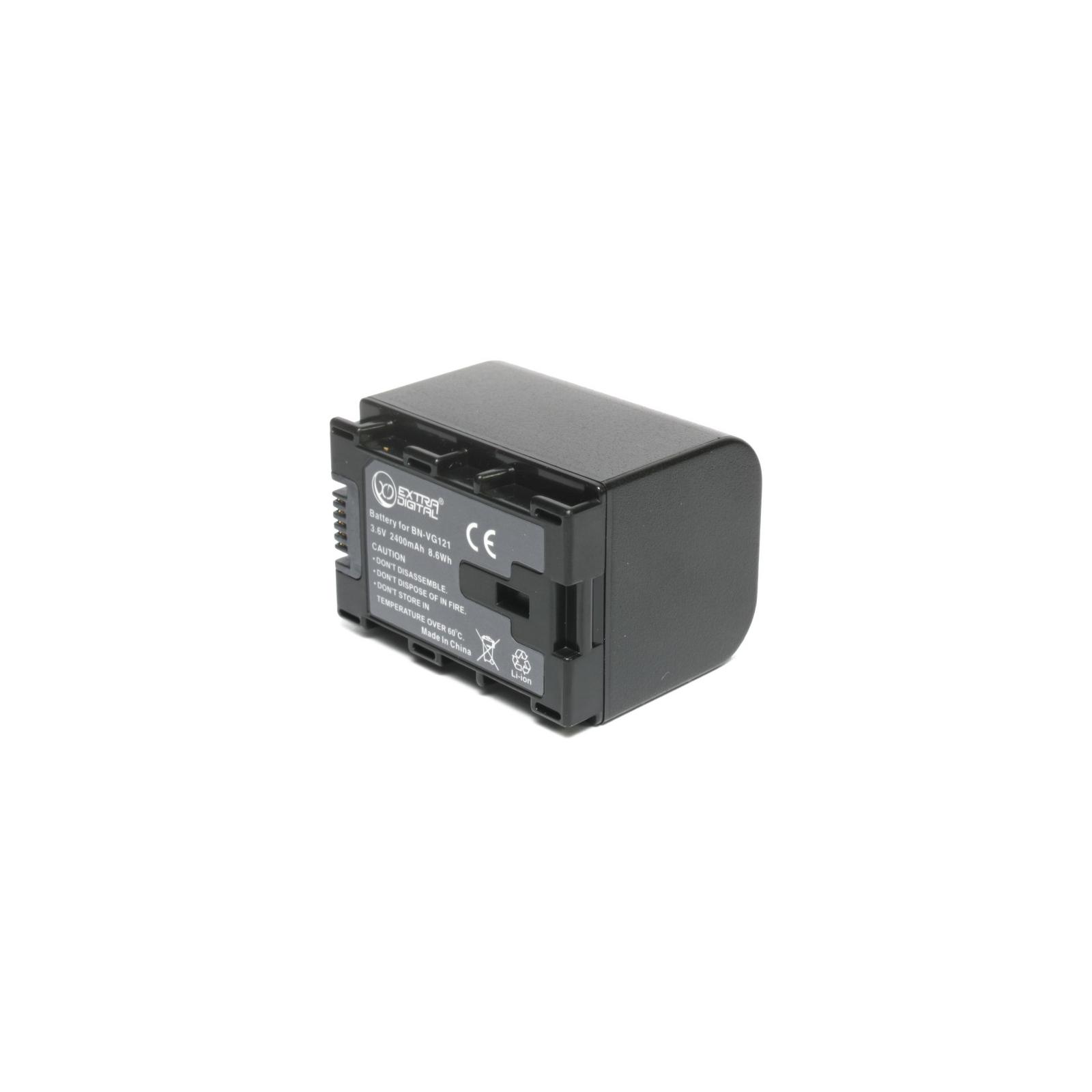 Аккумулятор к фото/видео EXTRADIGITAL JVC BN-VG121 (chip) (BDJ1311) изображение 2