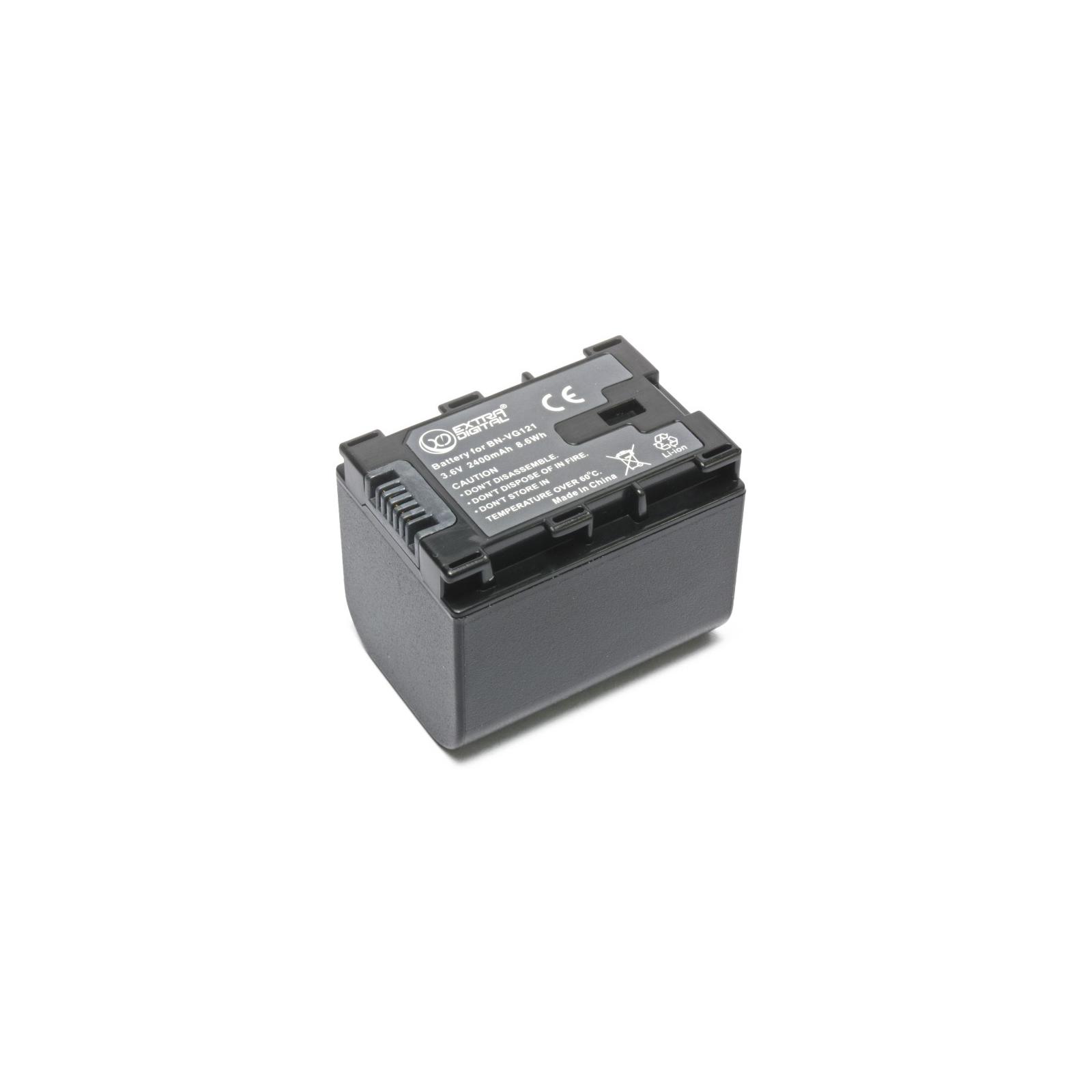 Аккумулятор к фото/видео EXTRADIGITAL JVC BN-VG121 (chip) (BDJ1311) изображение 4
