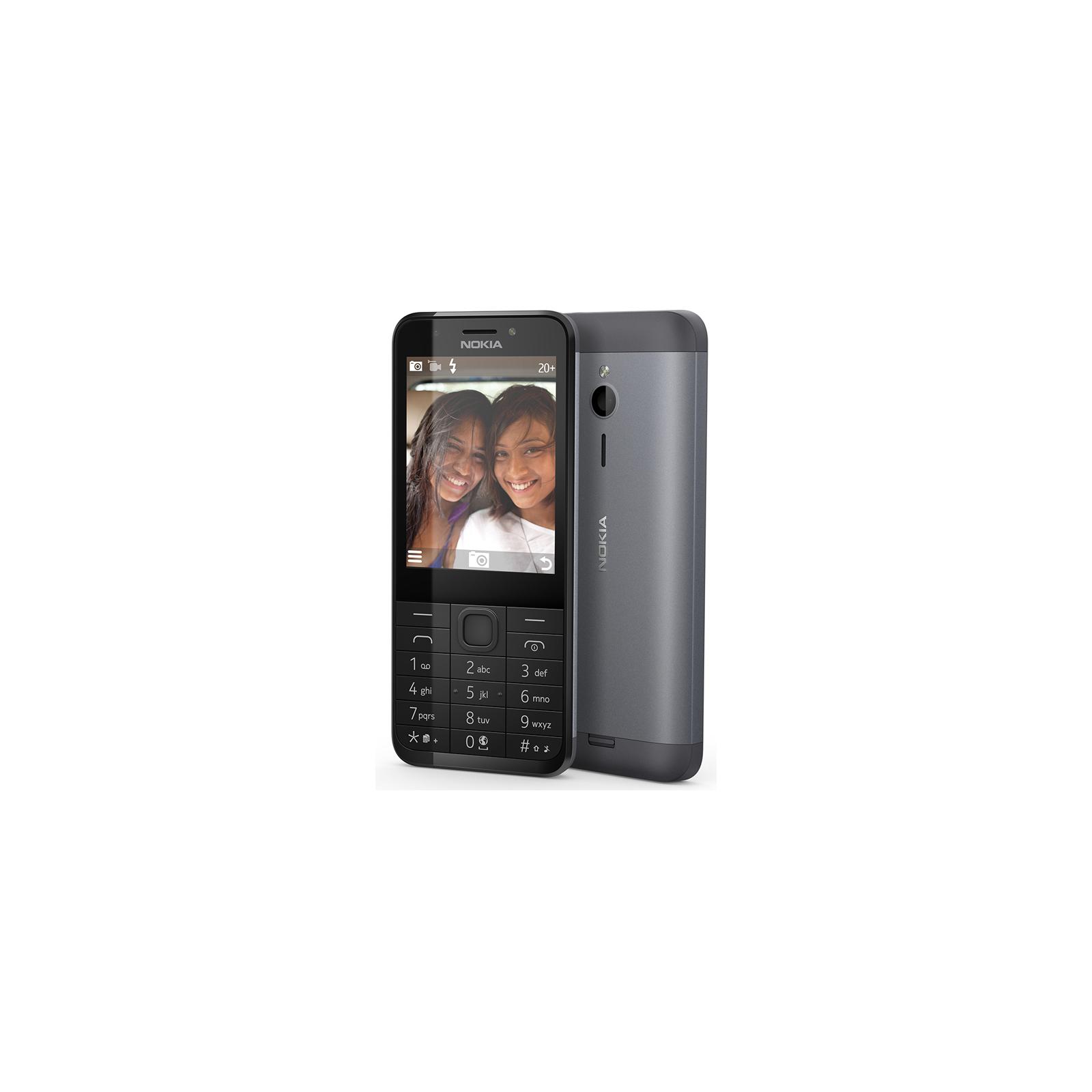 Мобильный телефон Nokia 230 Dual Dark Silver (A00026971) изображение 4