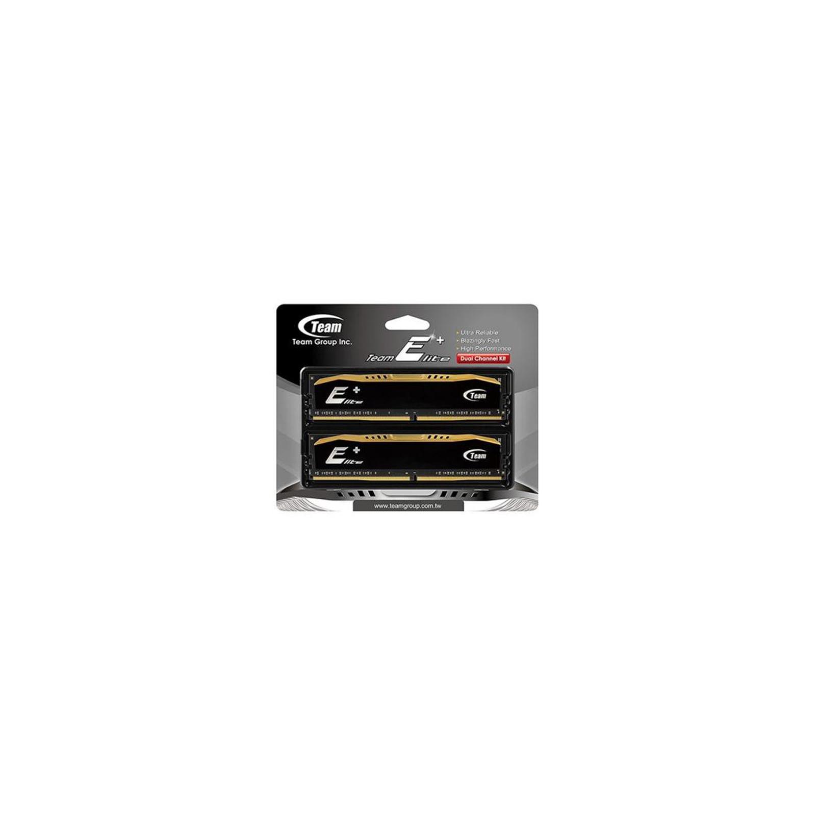 Модуль памяти для компьютера DDR4 16GB (2x8GB) 2400 MHz Elite Team (TED416G2400C16DC01) изображение 2