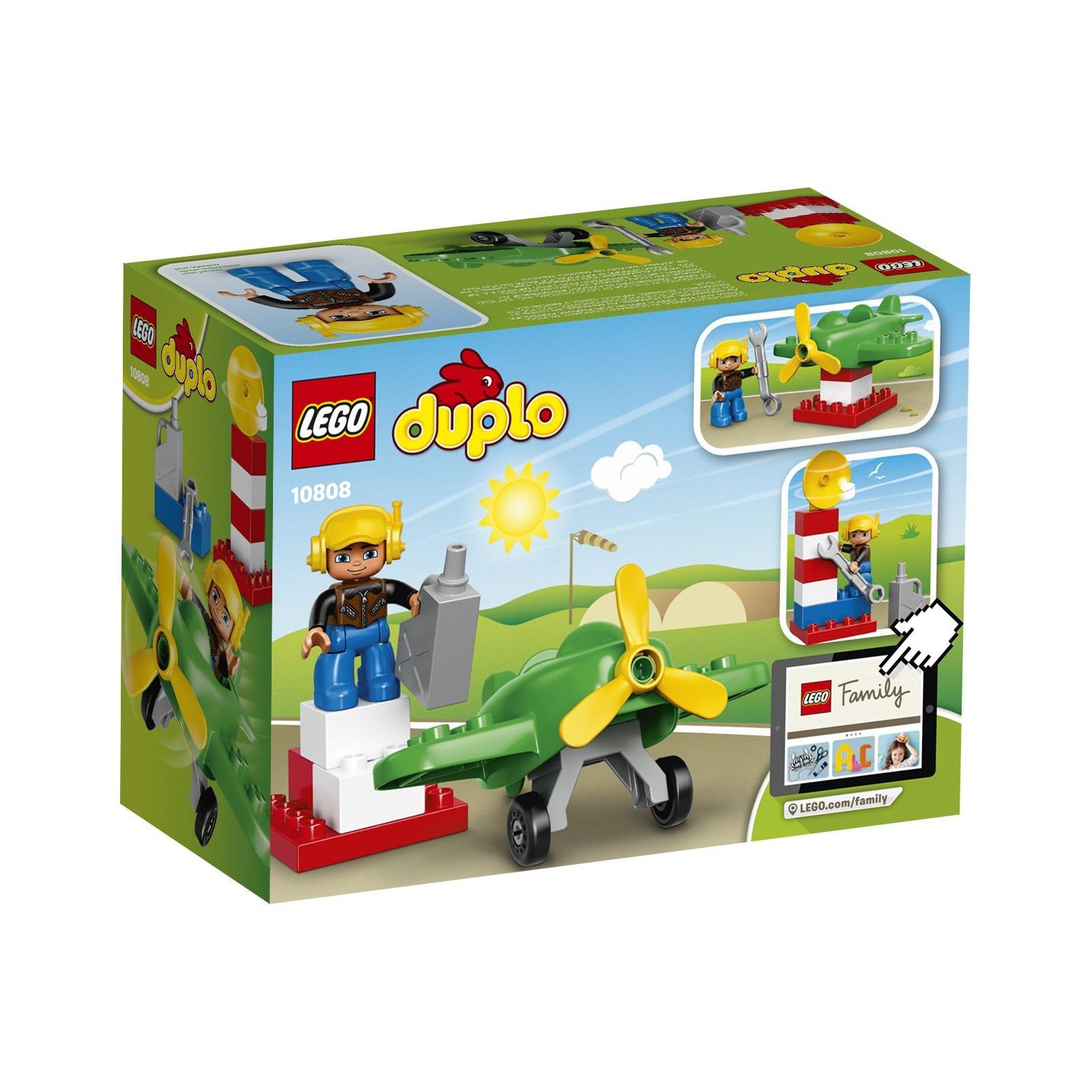 Конструктор LEGO Duplo Town Маленький самолёт (10808) изображение 9