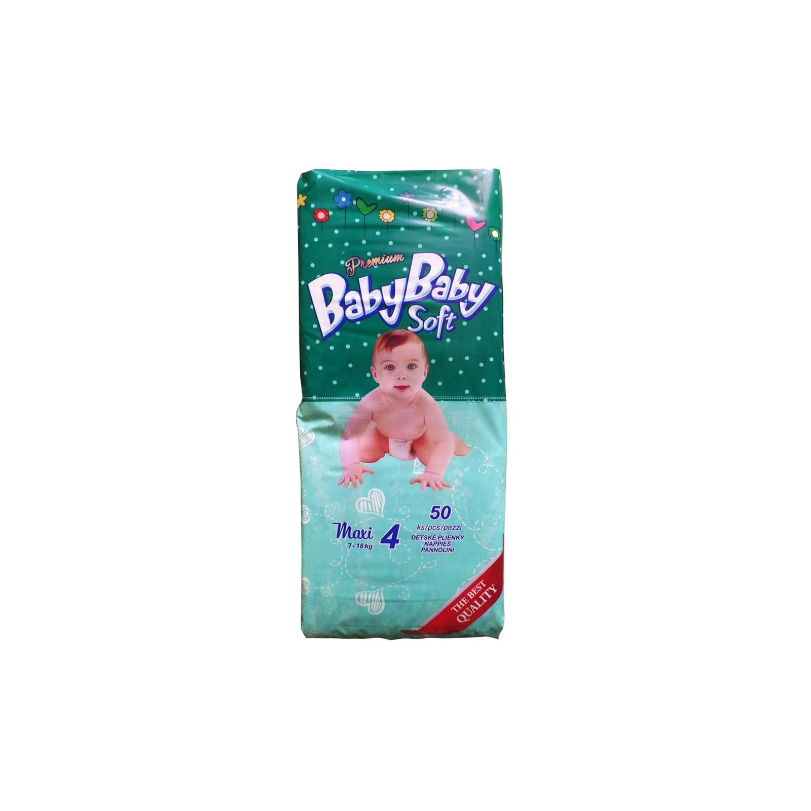 Подгузник BabyBaby Soft Premium Maxi 4 (7-18 кг) 50 шт (8588004865563)