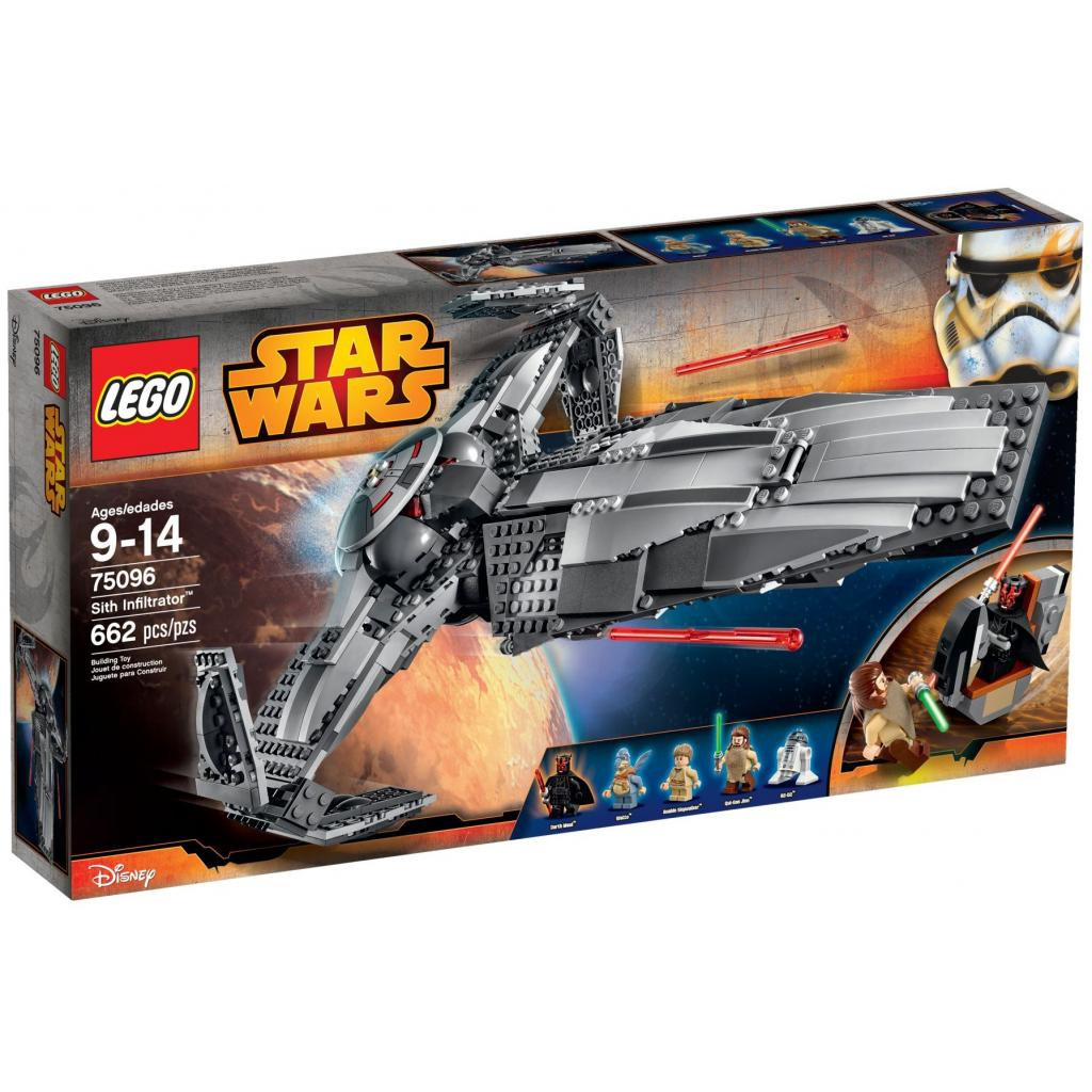 Конструктор LEGO Star Wars Разведчик Ситхов (75096)