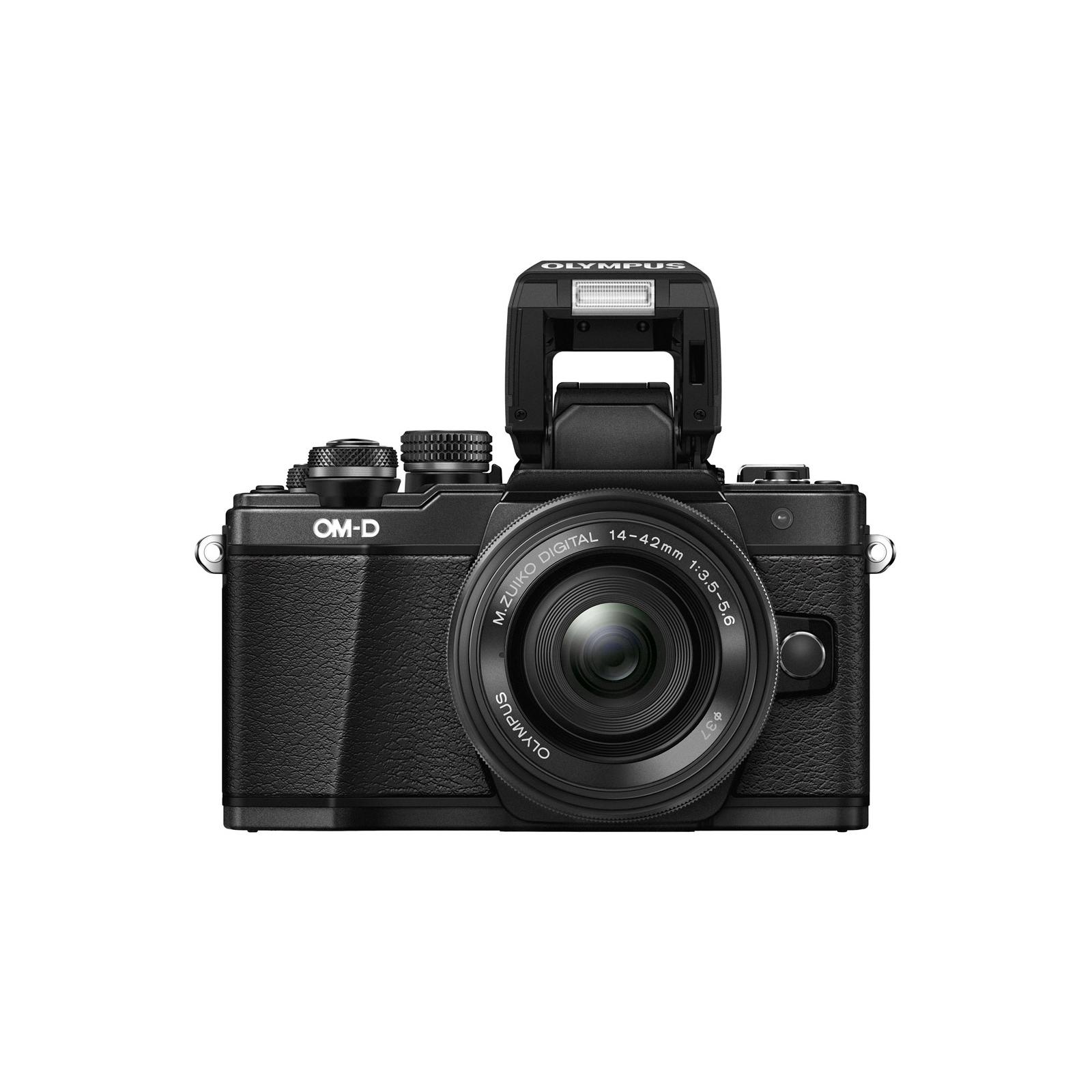 Цифровой фотоаппарат OLYMPUS E-M10 mark II 14-42 Kit black/black (V207051BE000) изображение 11