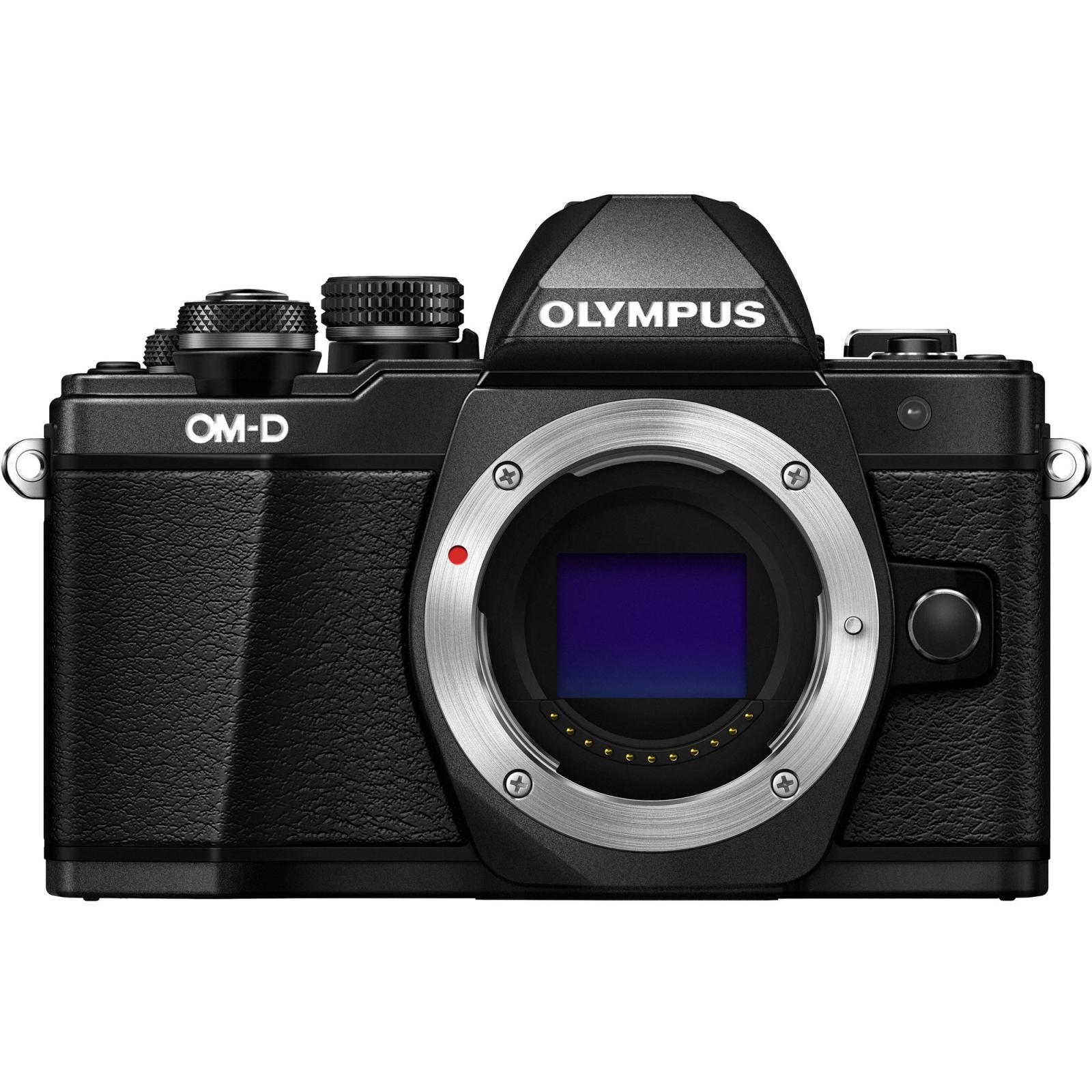 Цифровой фотоаппарат OLYMPUS E-M10 mark II 14-42 Kit black/black (V207051BE000) изображение 12