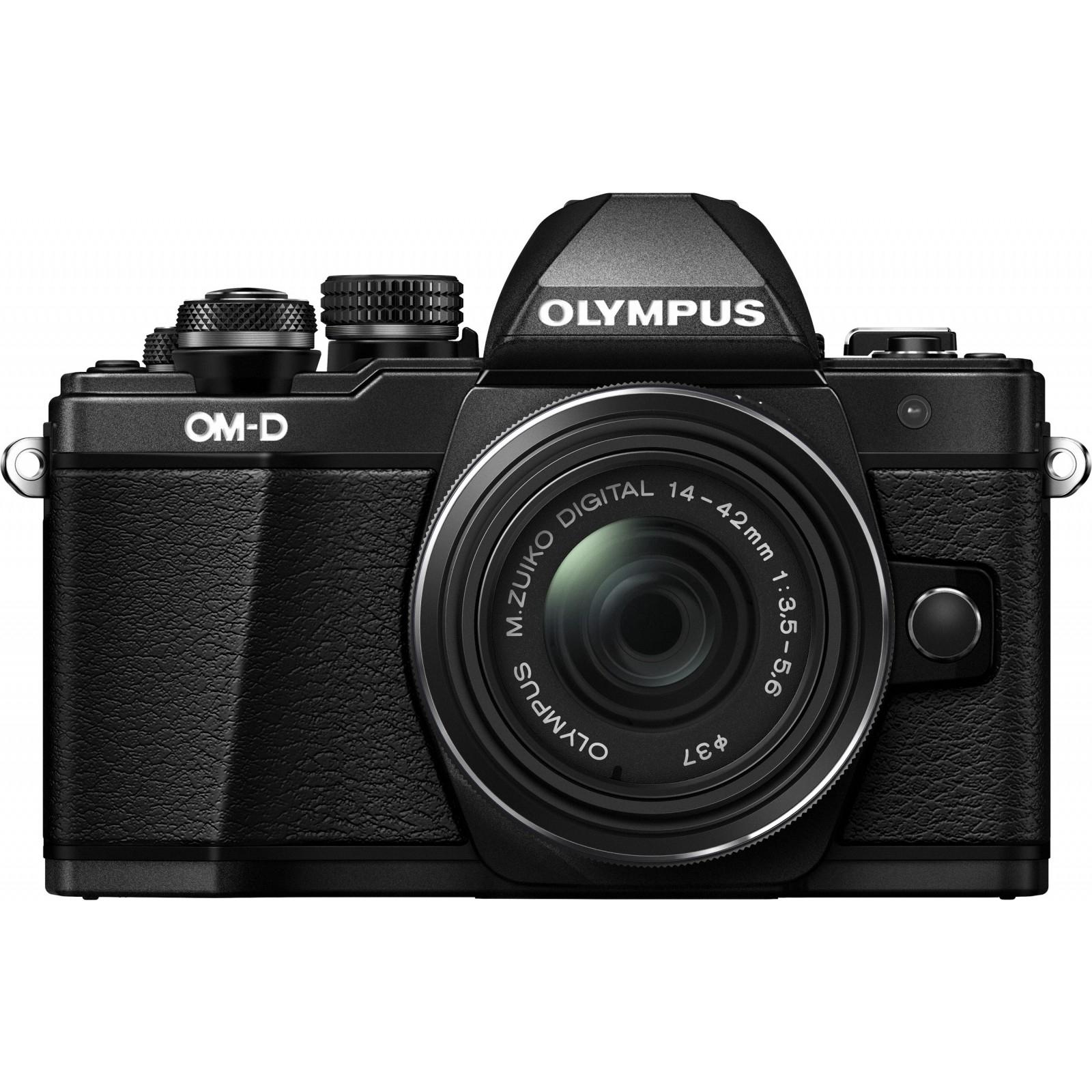Цифровой фотоаппарат OLYMPUS E-M10 mark II 14-42 Kit black/black (V207051BE000) изображение 2