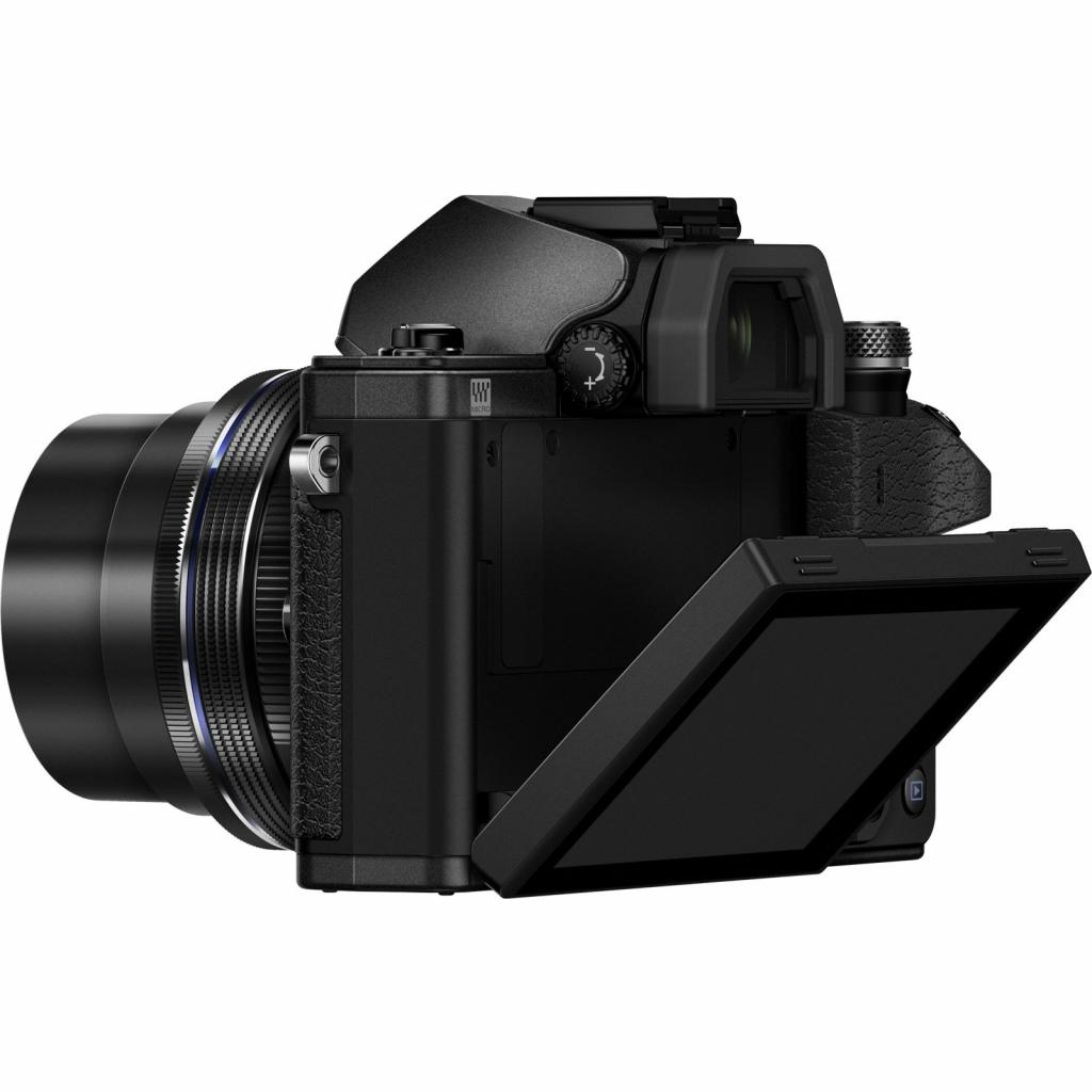 Цифровой фотоаппарат OLYMPUS E-M10 mark II 14-42 Kit black/black (V207051BE000) изображение 6