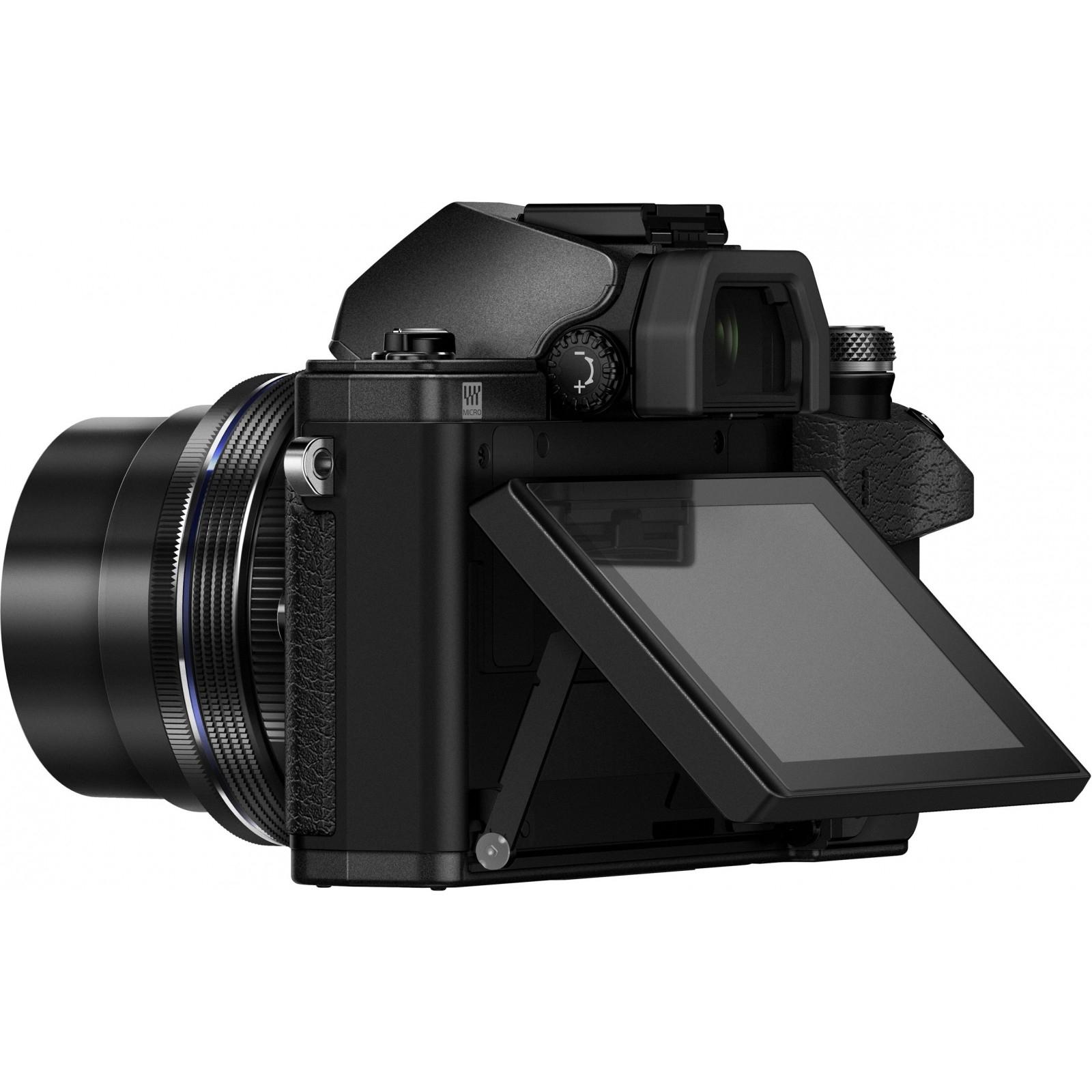 Цифровой фотоаппарат OLYMPUS E-M10 mark II 14-42 Kit black/black (V207051BE000) изображение 7