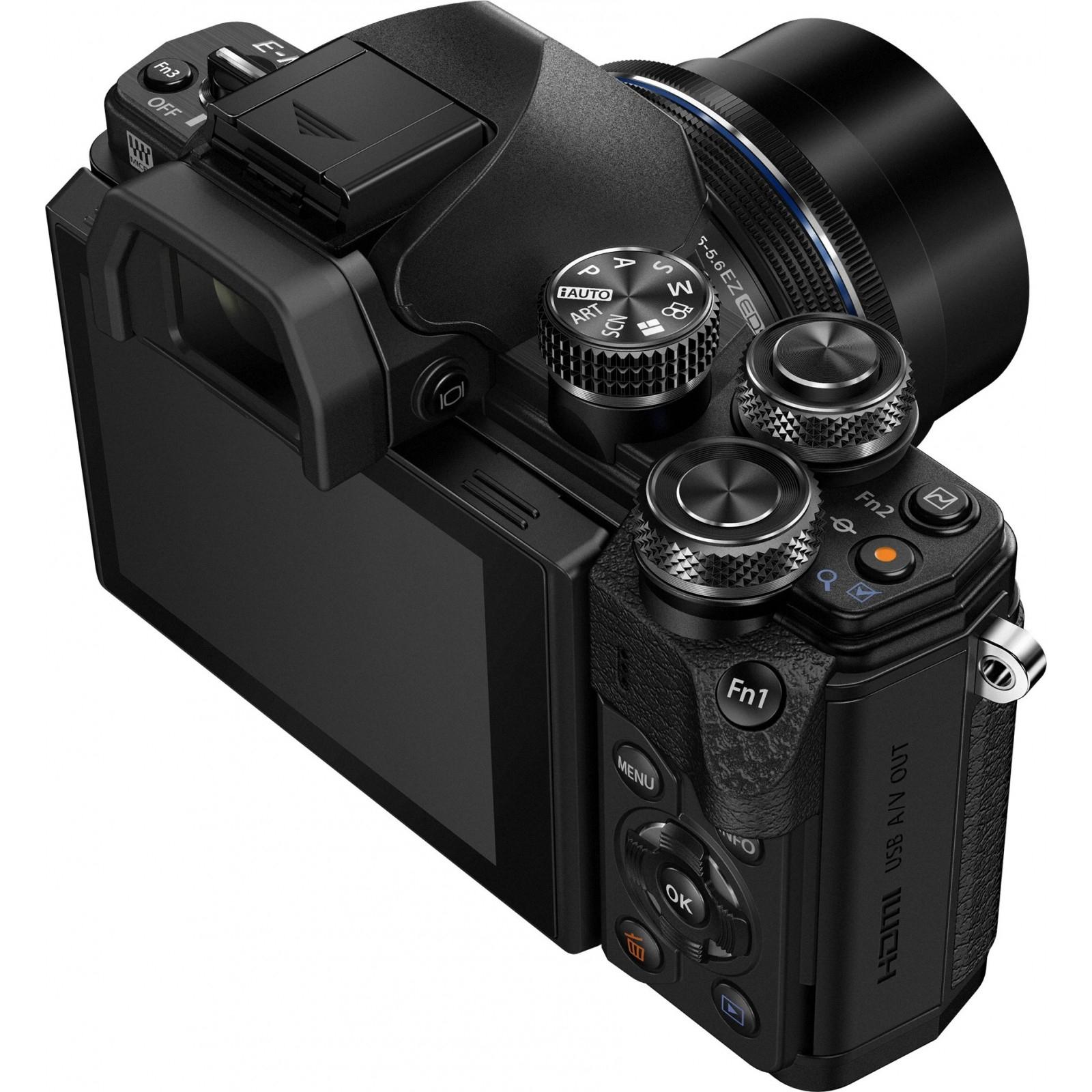 Цифровой фотоаппарат OLYMPUS E-M10 mark II 14-42 Kit black/black (V207051BE000) изображение 8