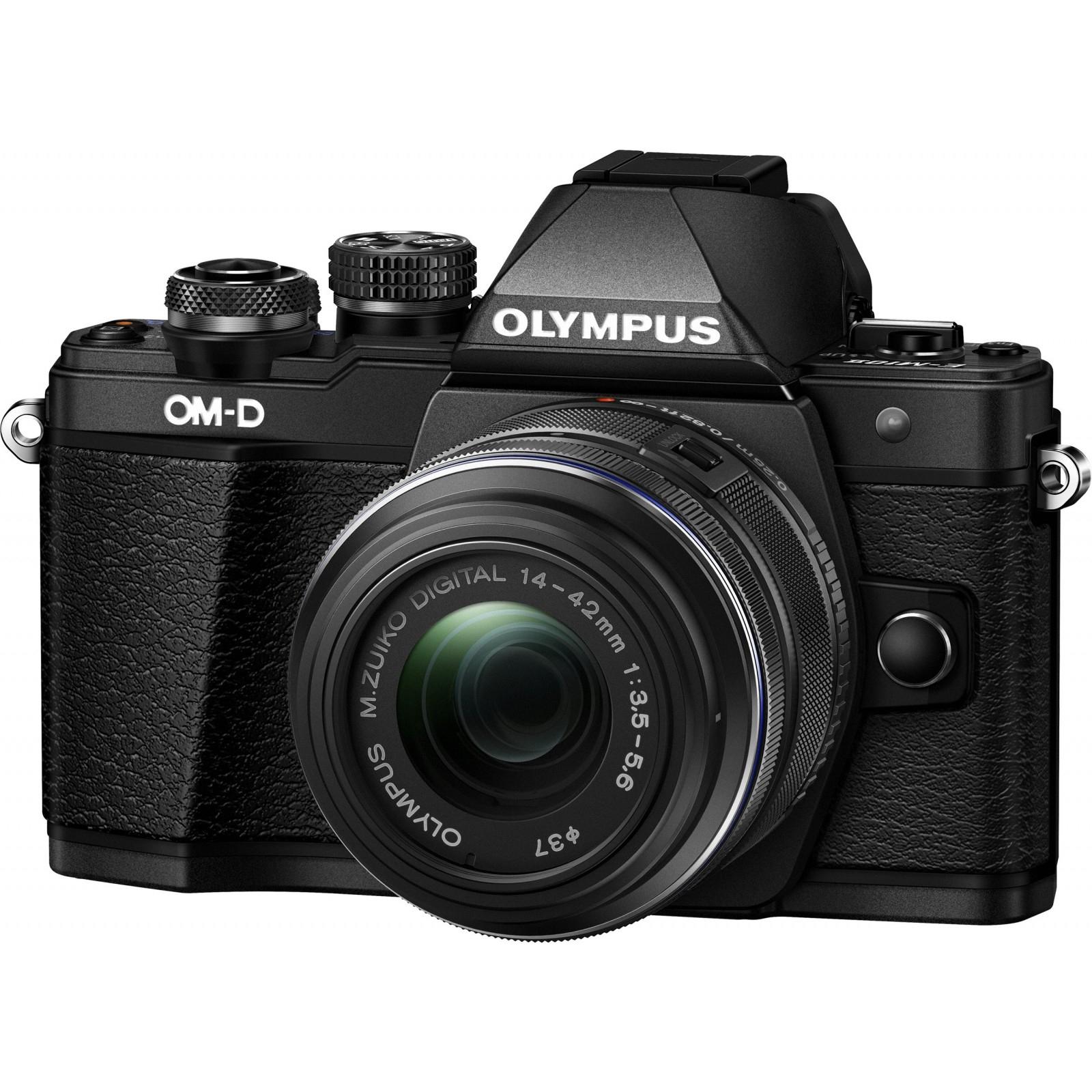 Цифровой фотоаппарат OLYMPUS E-M10 mark II 14-42 Kit black/black (V207051BE000)