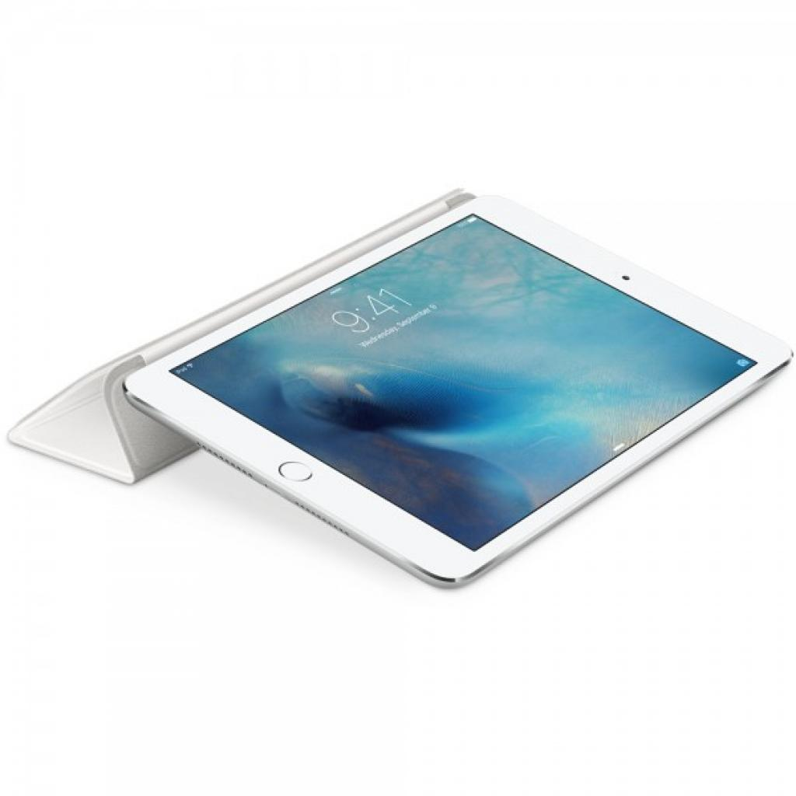 Чехол для планшета Apple Smart Cover для iPad mini 4 White (MKLW2ZM/A) изображение 4