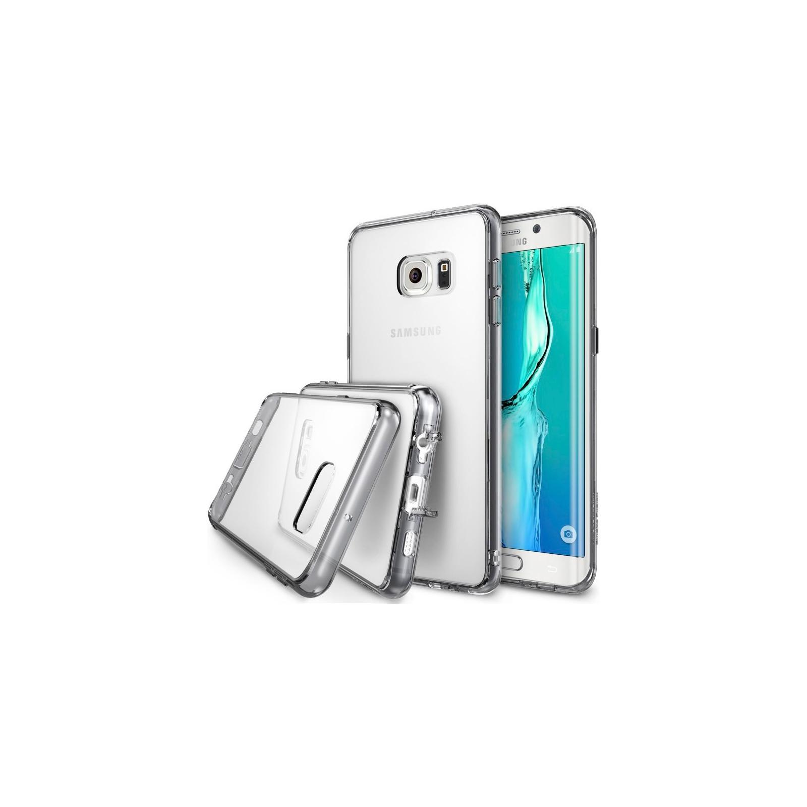 Чехол для моб. телефона Ringke Fusion для Samsung Galaxy S6 Edge Plus (Smoke Black) (170918)