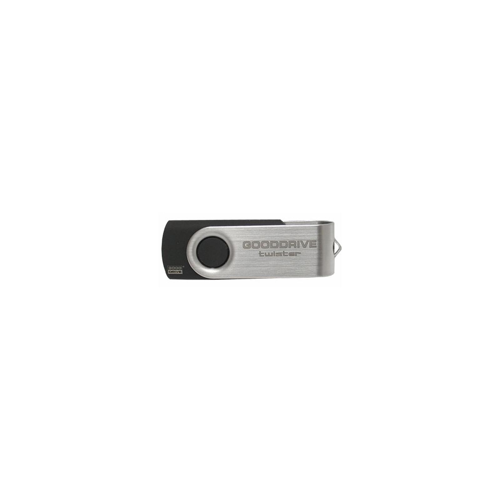 USB флеш накопитель Goodram 64GB Twister Black USB 2.0 (UTS2-0640K0R11)