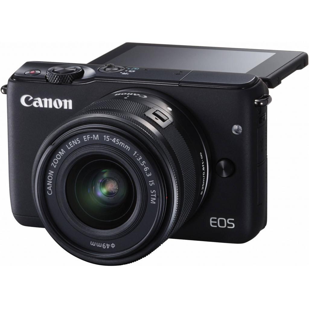Цифровой фотоаппарат Canon EOS M10 15-45 IS STM Black Kit (0584C040) изображение 10