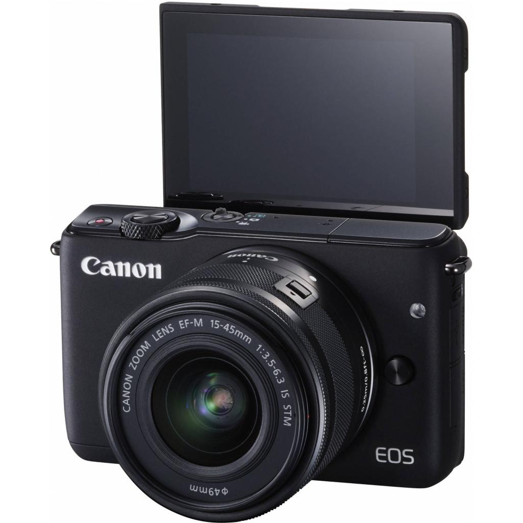 Цифровой фотоаппарат Canon EOS M10 15-45 IS STM Black Kit (0584C040) изображение 11